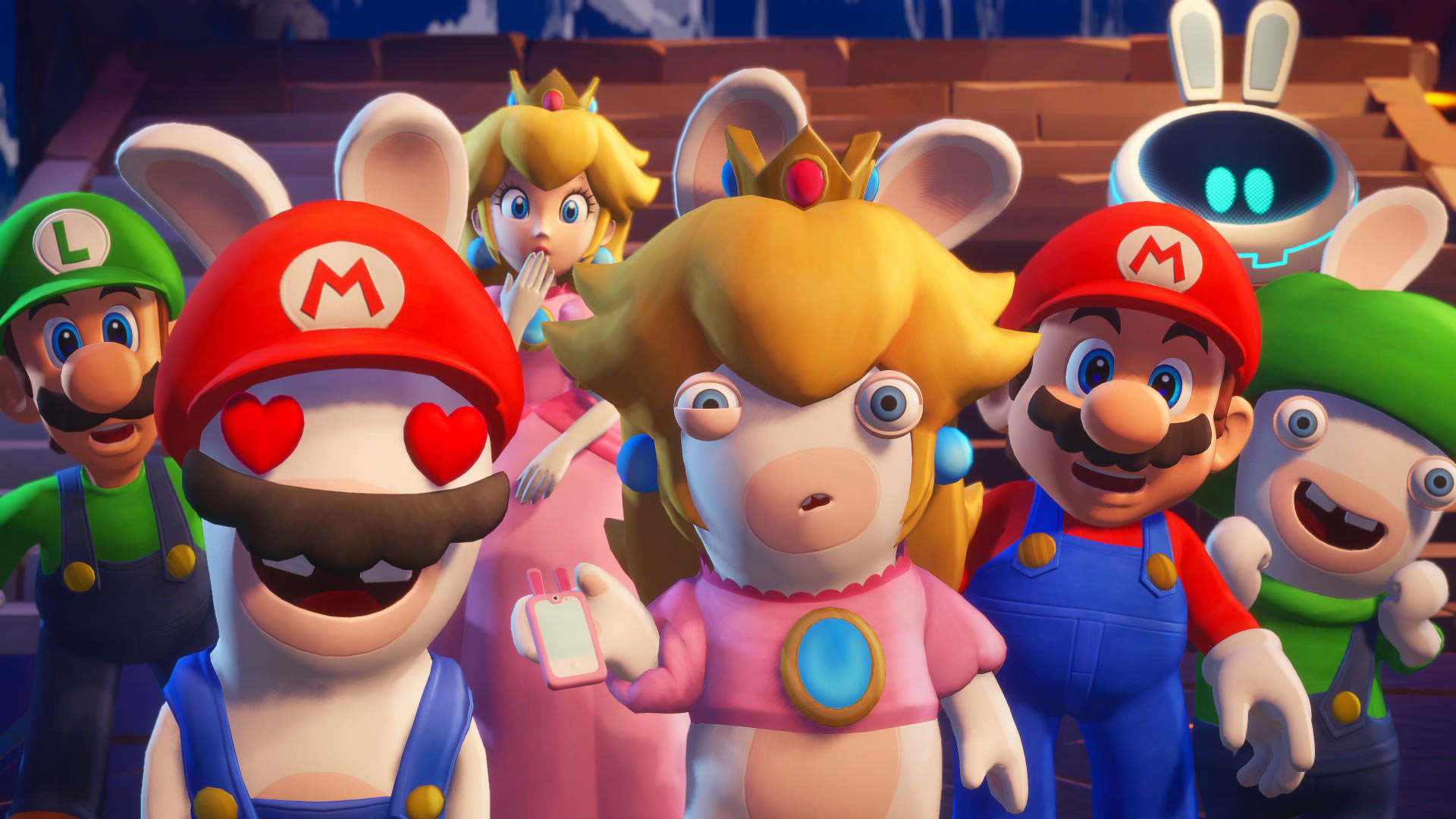 Free Mario + Rabbids: Sparks of Hope Wallpaper in 1920x1080