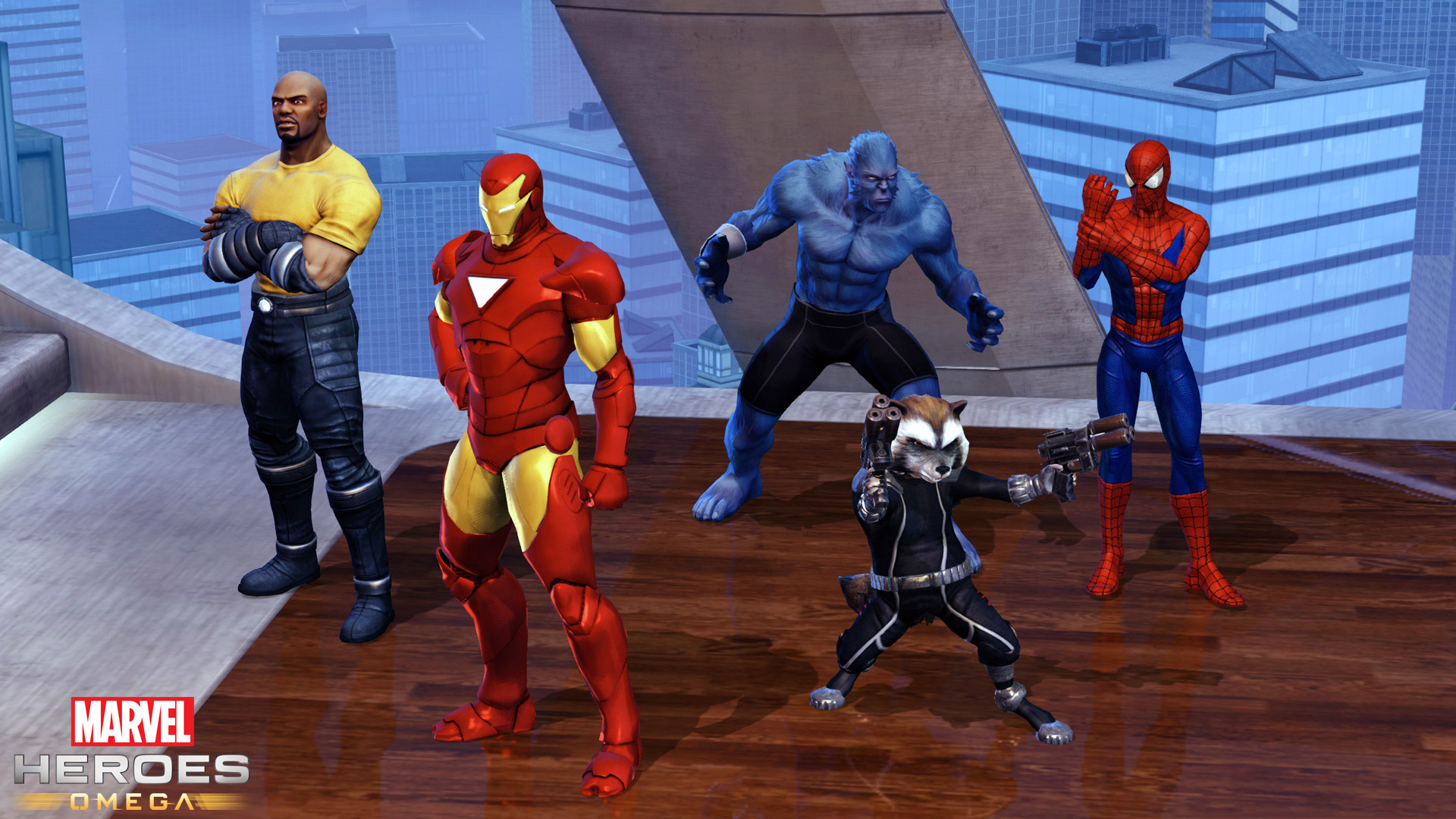 Free Marvel Heroes Wallpaper in 1920x1080