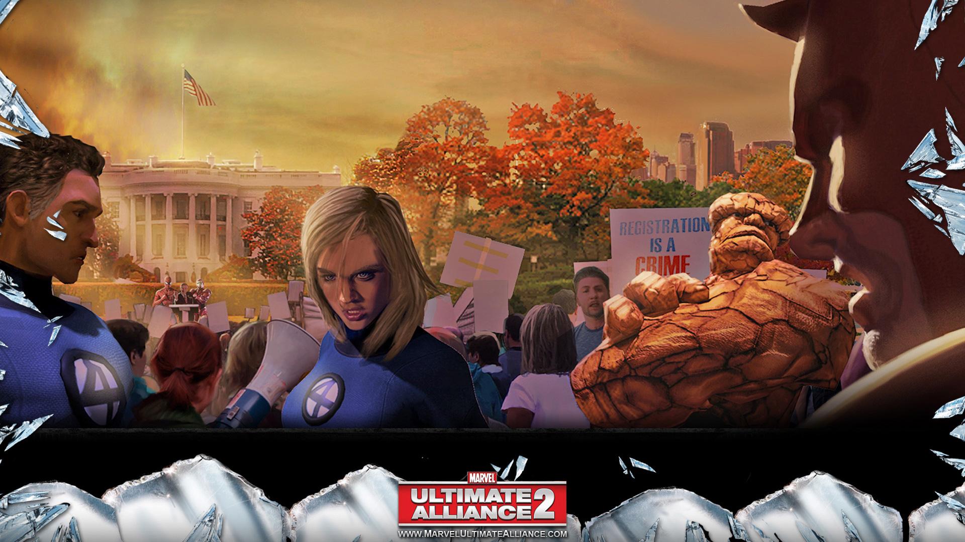 Free Marvel: Ultimate Alliance 2 Wallpaper in 1920x1080