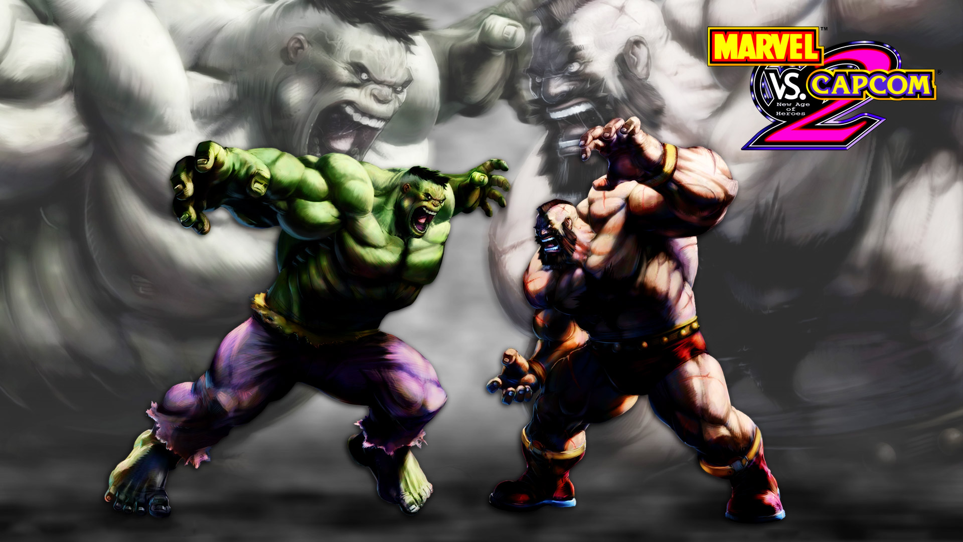 Free Marvel vs. Capcom 2: New Age of Heroes Wallpaper in 1920x1080