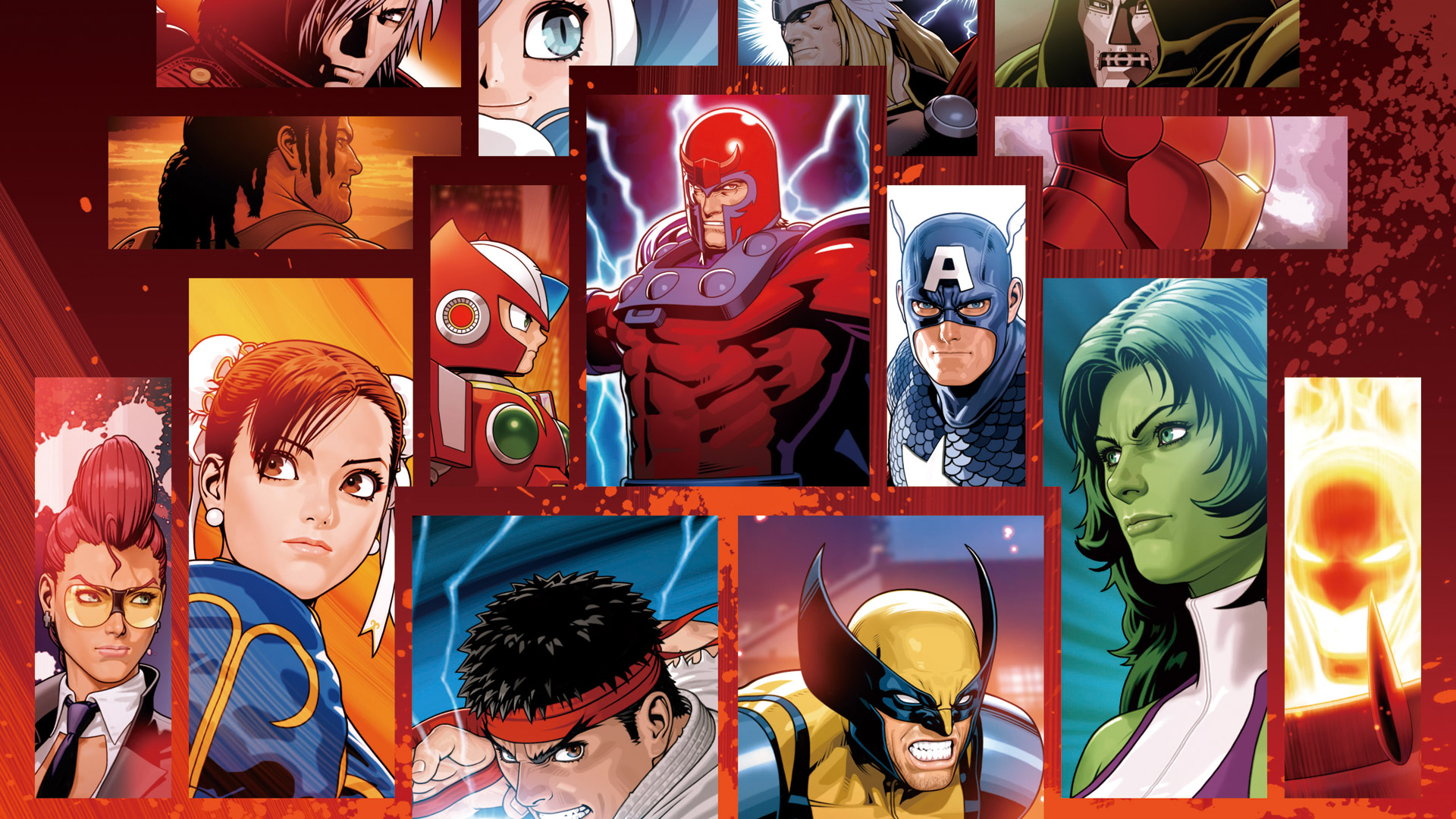 Marvel vs. Capcom 3: Fate of Two Worlds Wallpaper in 1920x1080