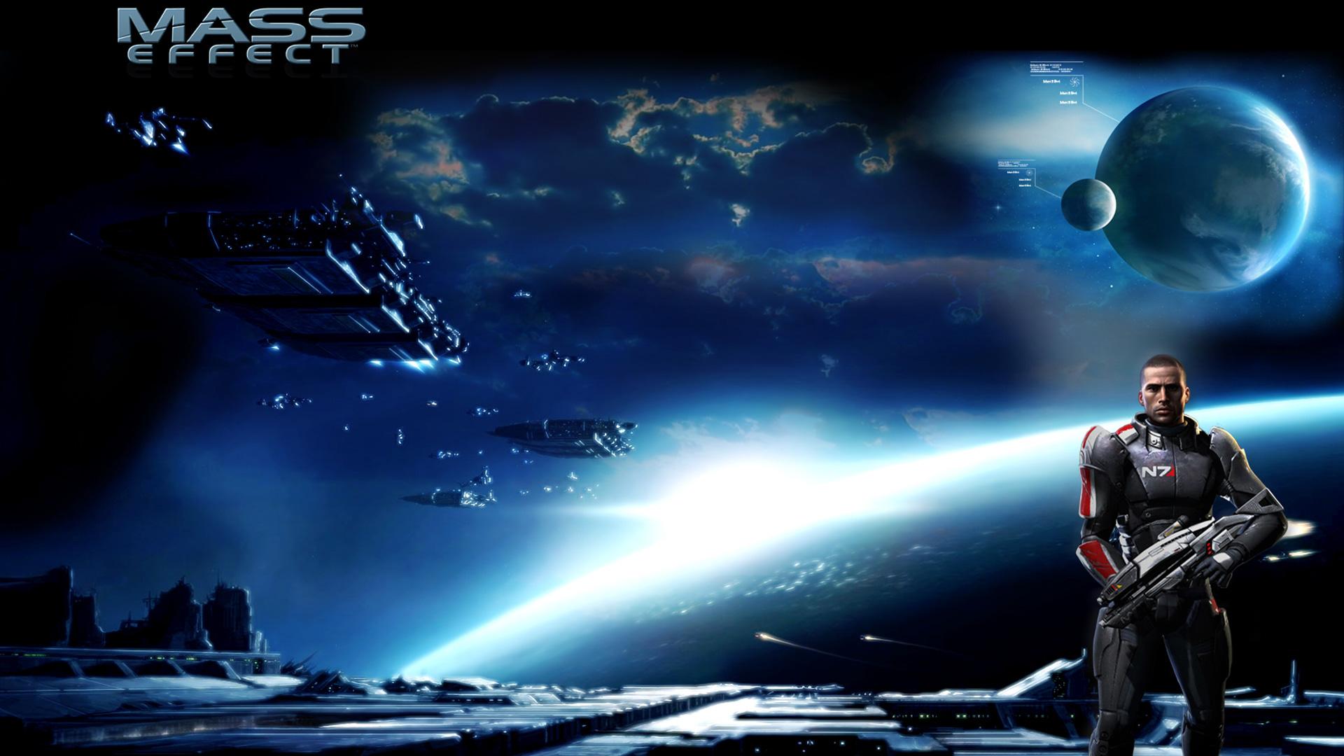 Mass Effect Wallpaper in 1920x1080