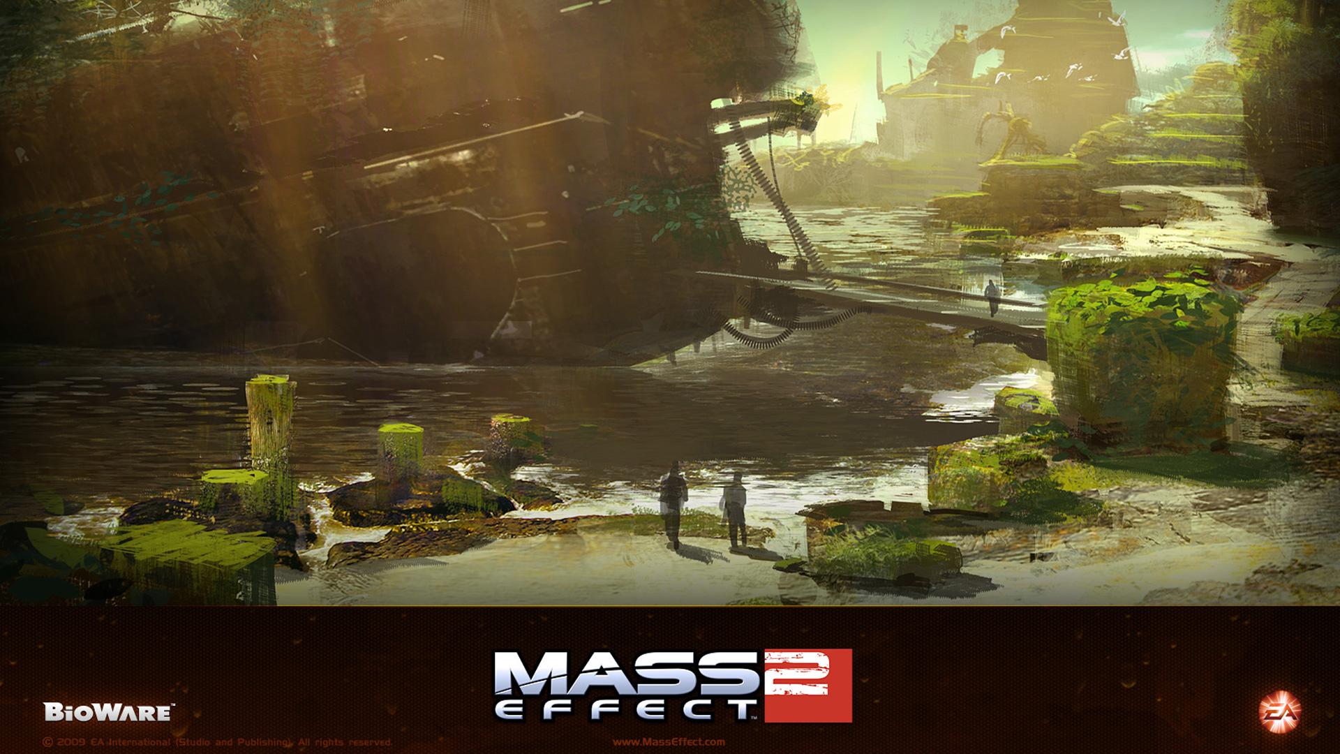Mass Effect 2 Wallpaper in 1920x1080