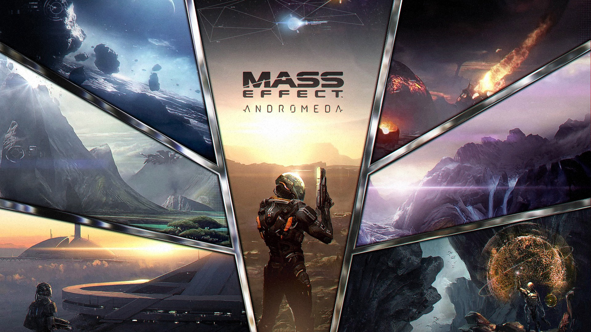 Free Mass Effect: Andromeda Wallpaper in 1920x1080