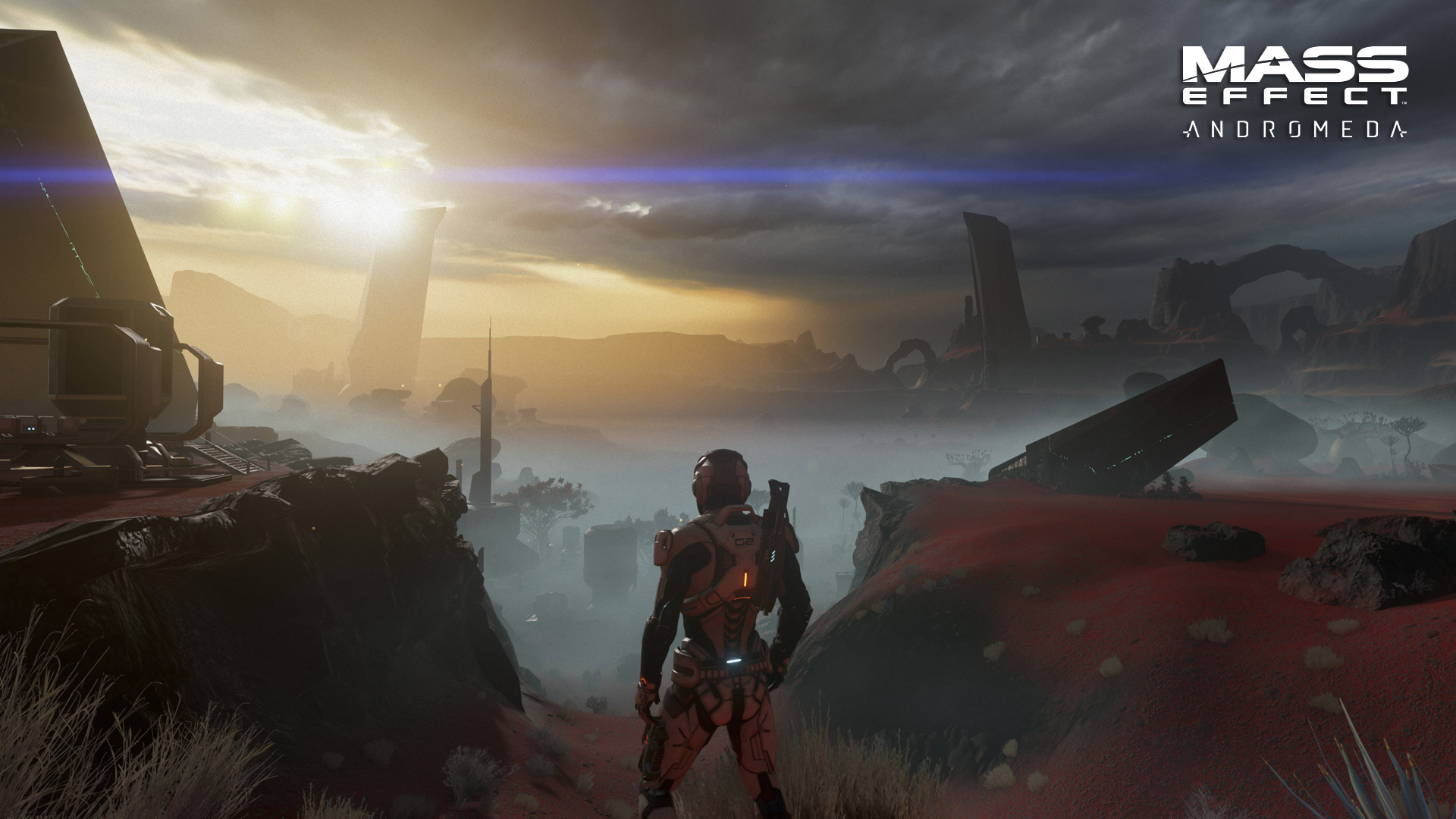 Mass Effect: Andromeda Wallpaper in 1920x1080