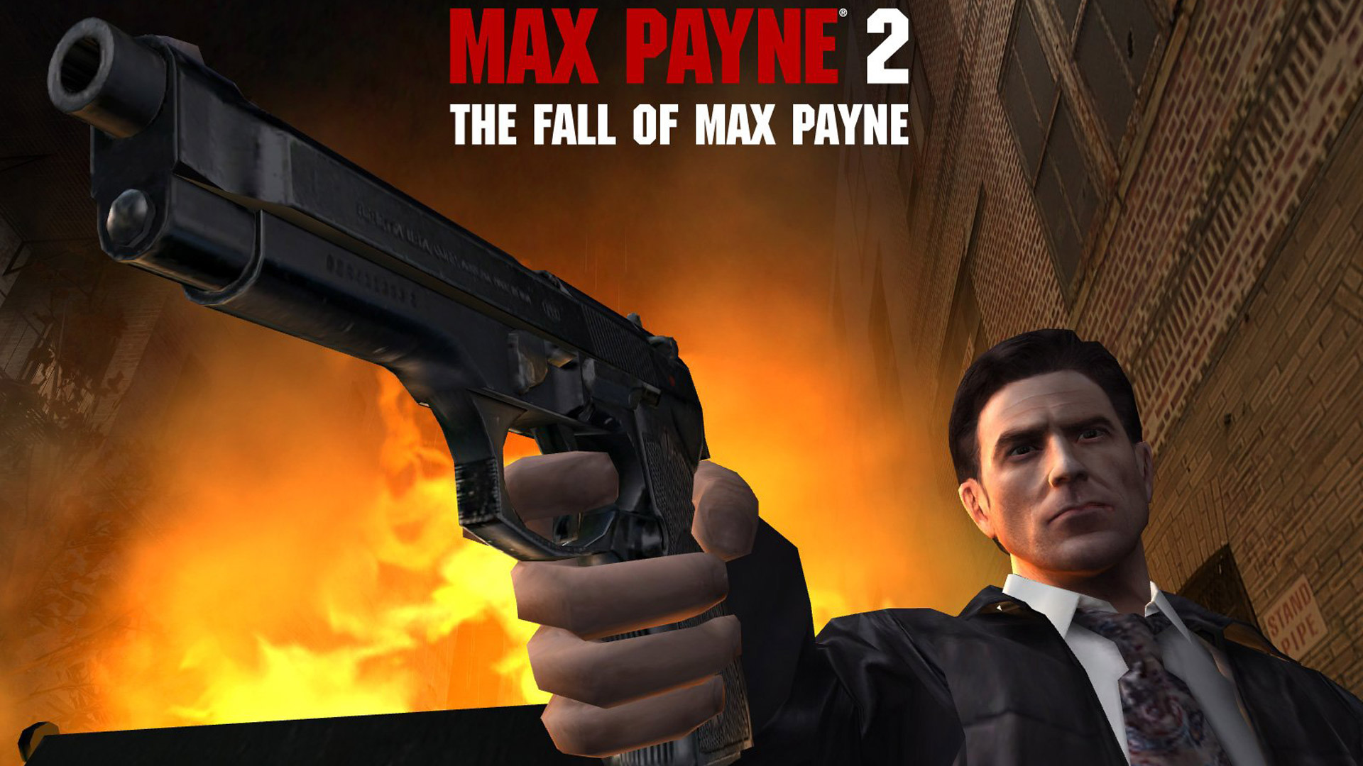 Max Payne 2: The Fall of Max Payne Wallpaper in 1920x1080