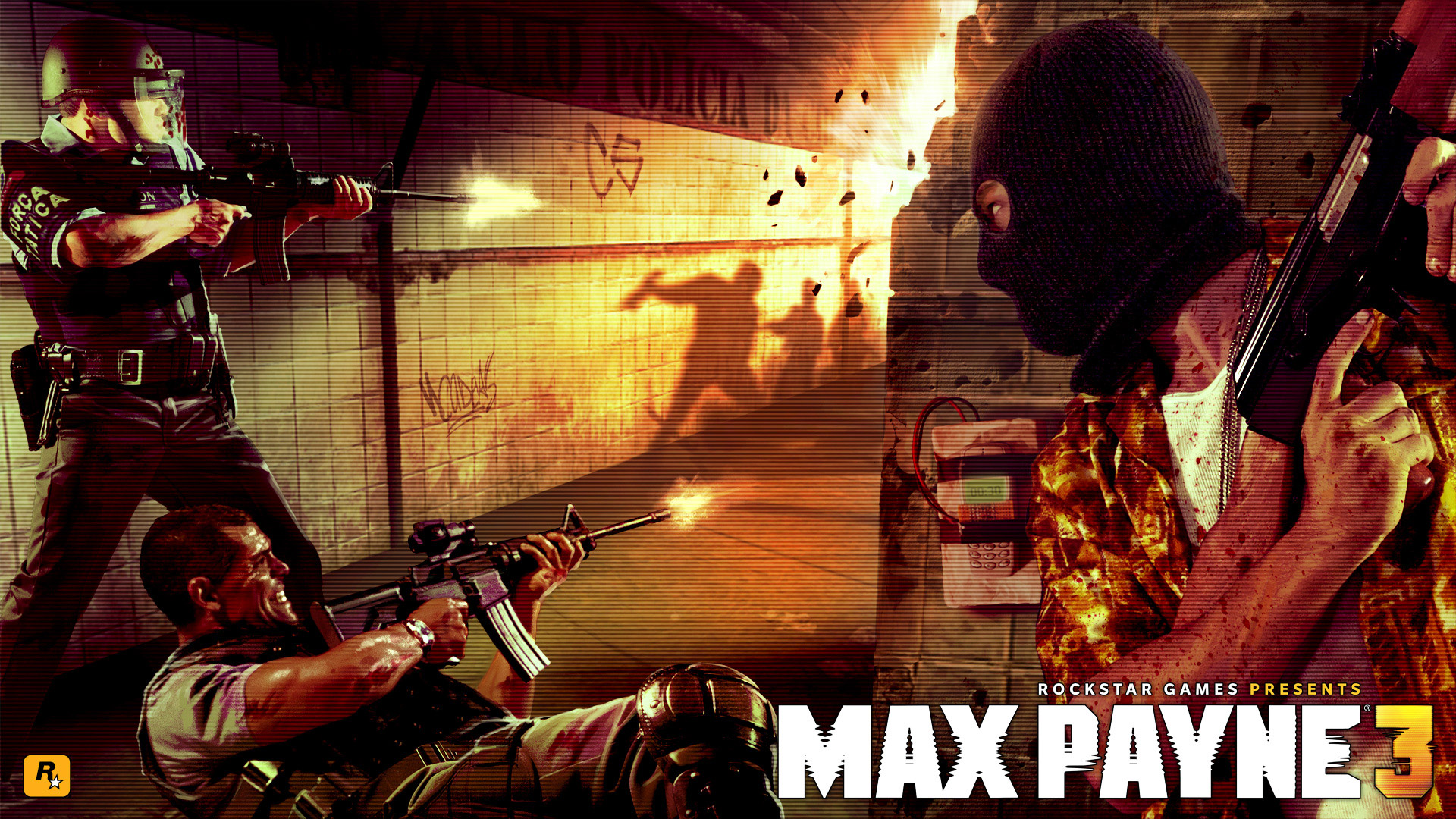 Free Max Payne 3 Wallpaper in 1920x1080