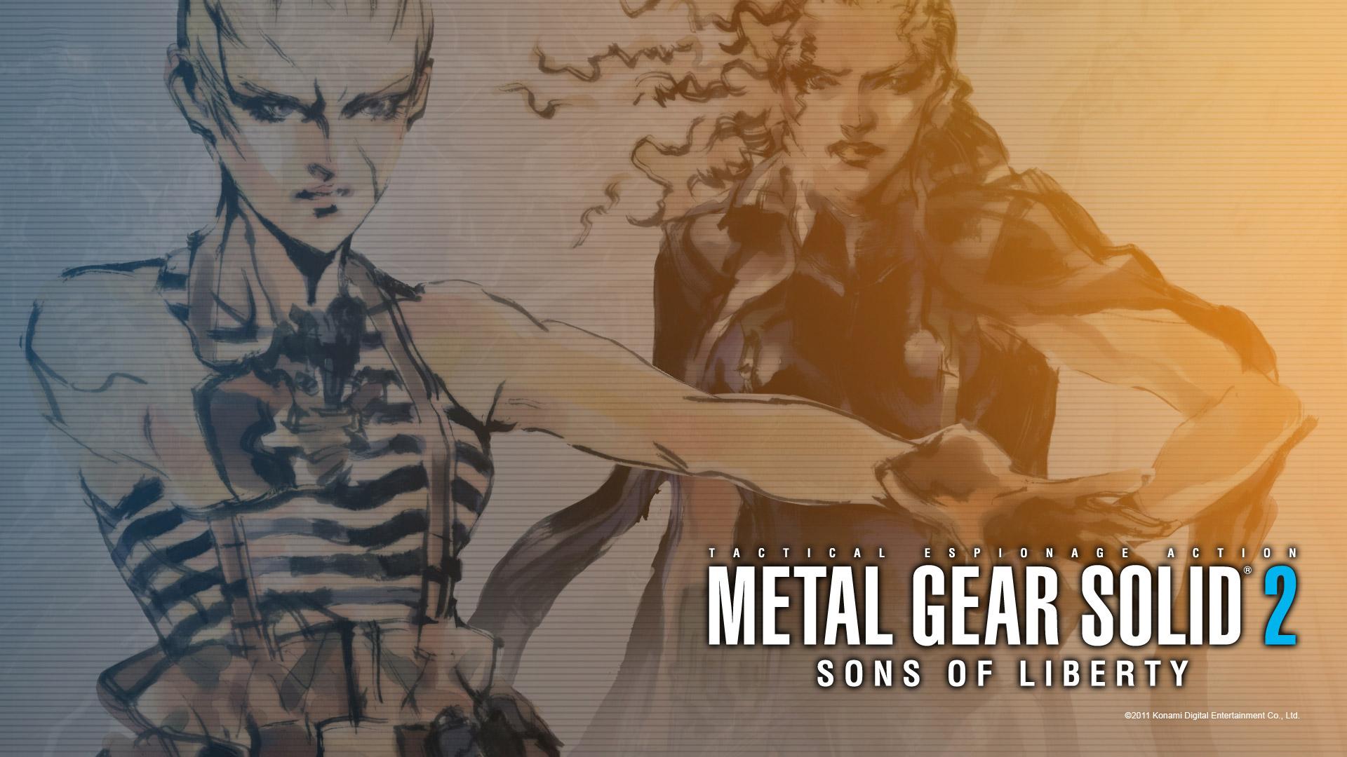 Free Metal Gear Solid 2 Wallpaper in 1920x1080