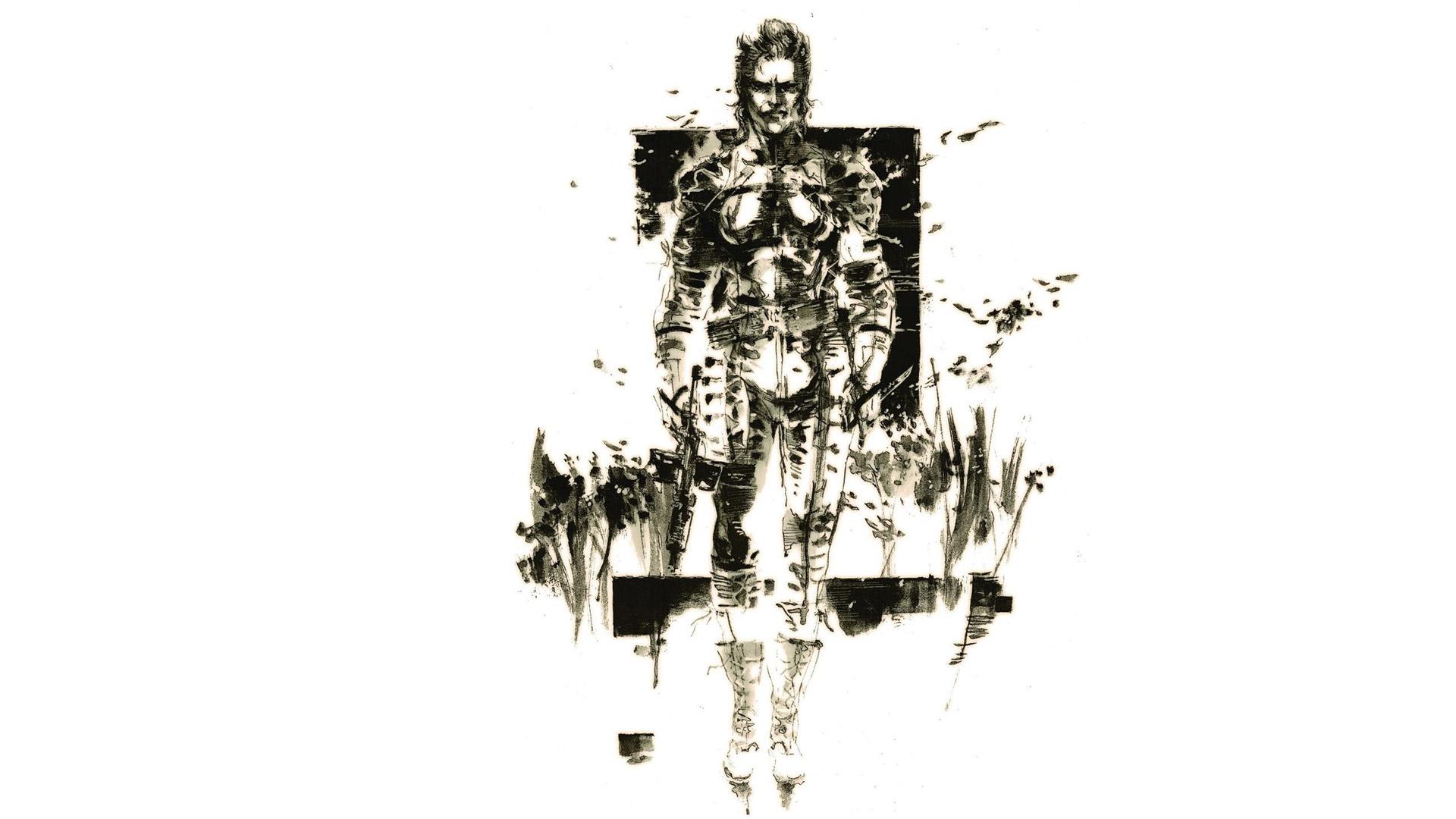 Free Metal Gear Solid 3 Wallpaper in 1920x1080