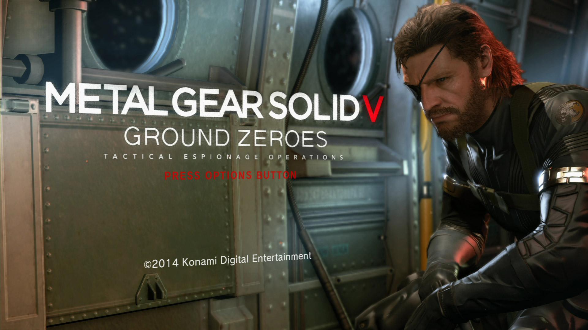 Metal Gear Solid: Ground Zeroes Wallpaper in 1920x1080