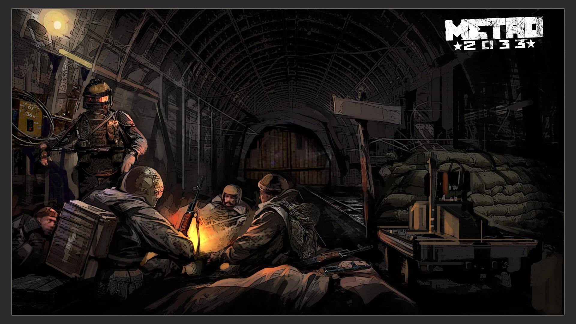 Metro 2033 Wallpaper in 1920x1080