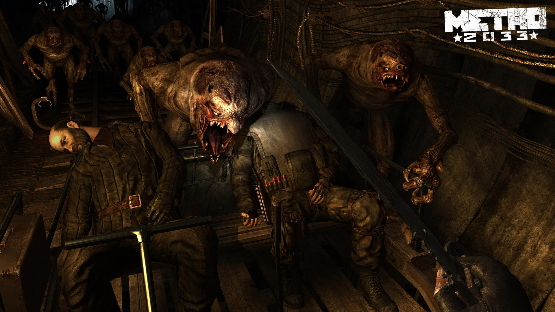 Metro 2033 Wallpaper in 1920x1080
