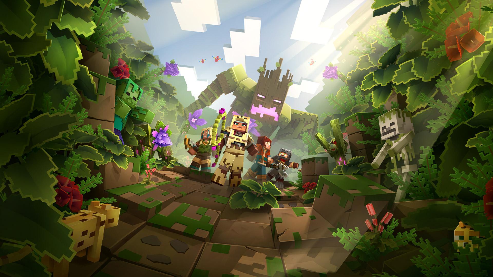 Minecraft Dungeons Wallpaper in 1920x1080