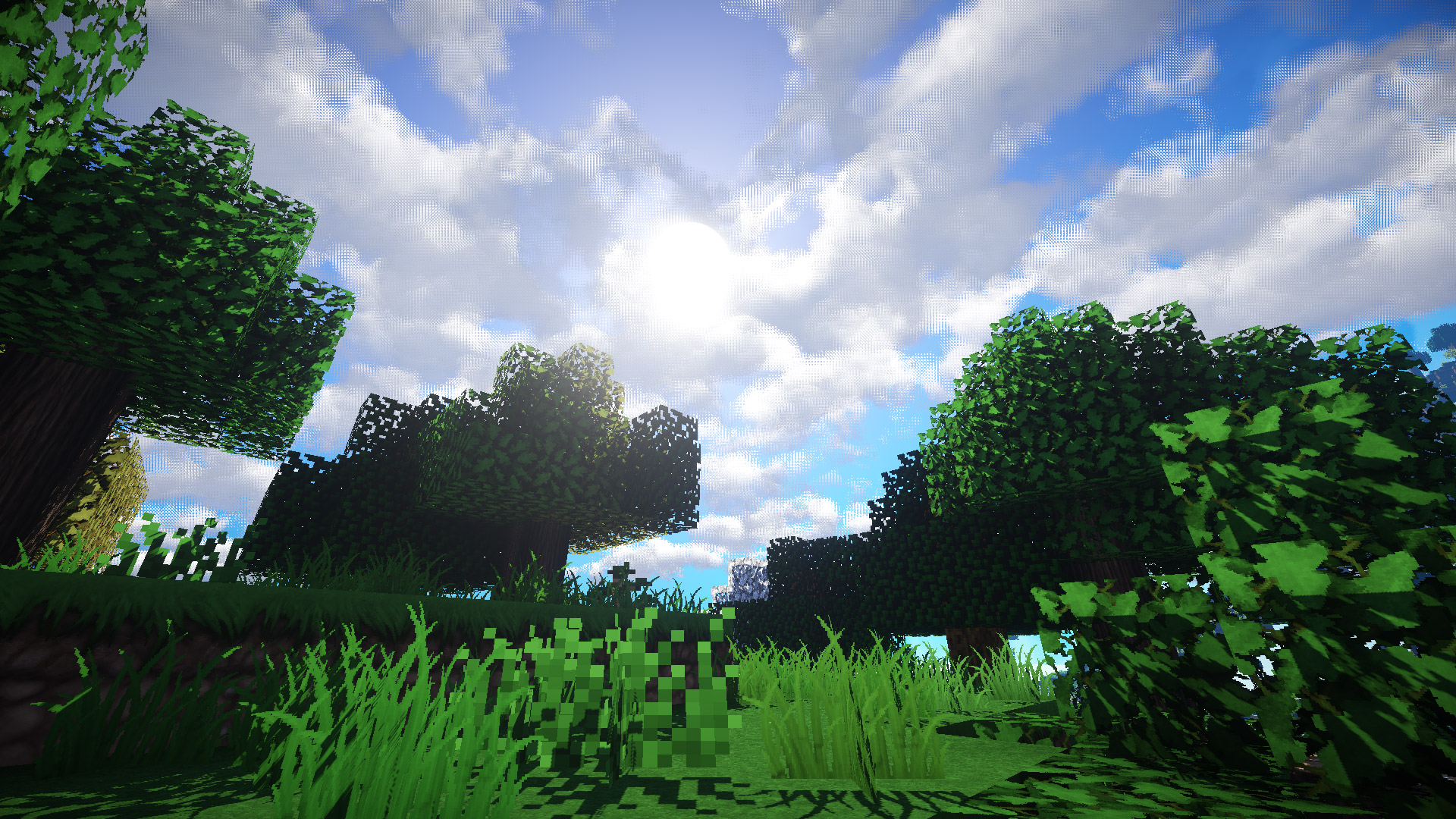 Free Minecraft Wallpaper in 1920x1080