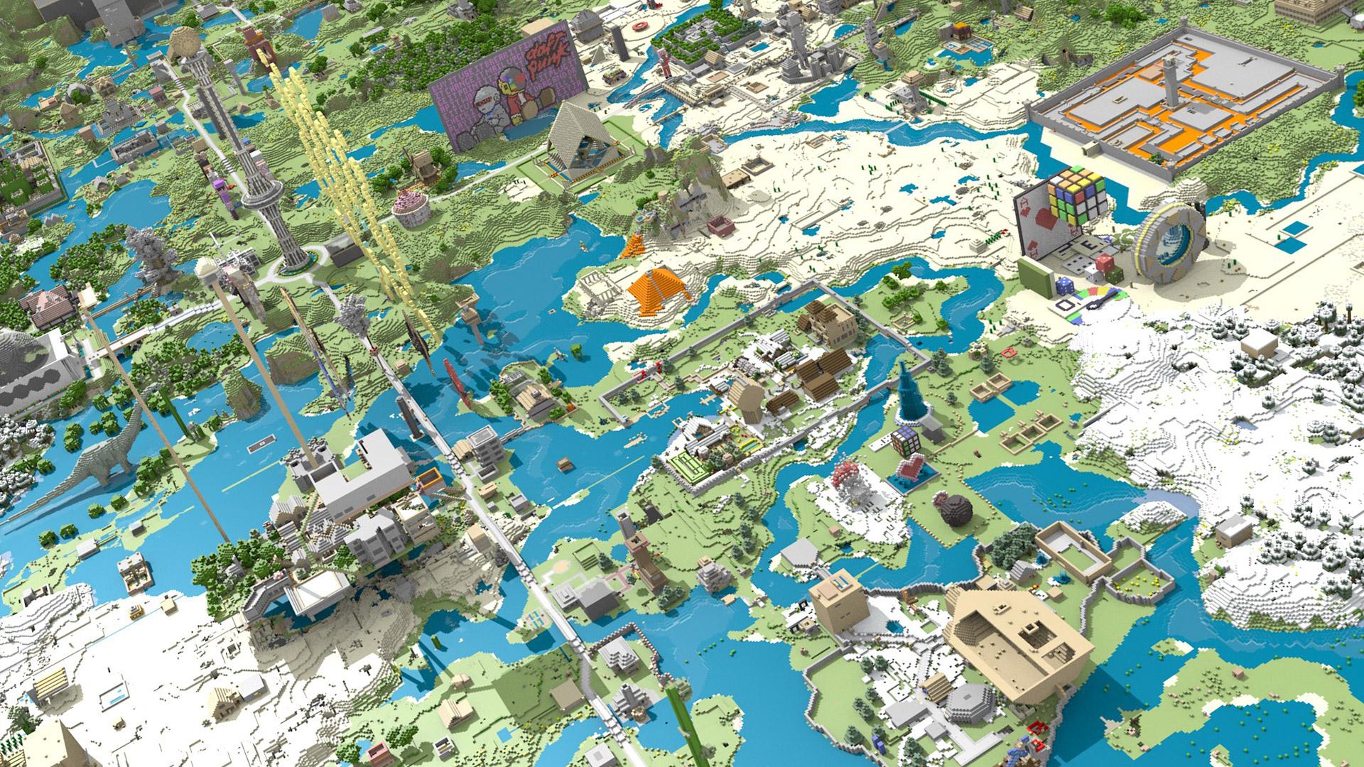 Minecraft Wallpaper in 1920x1080