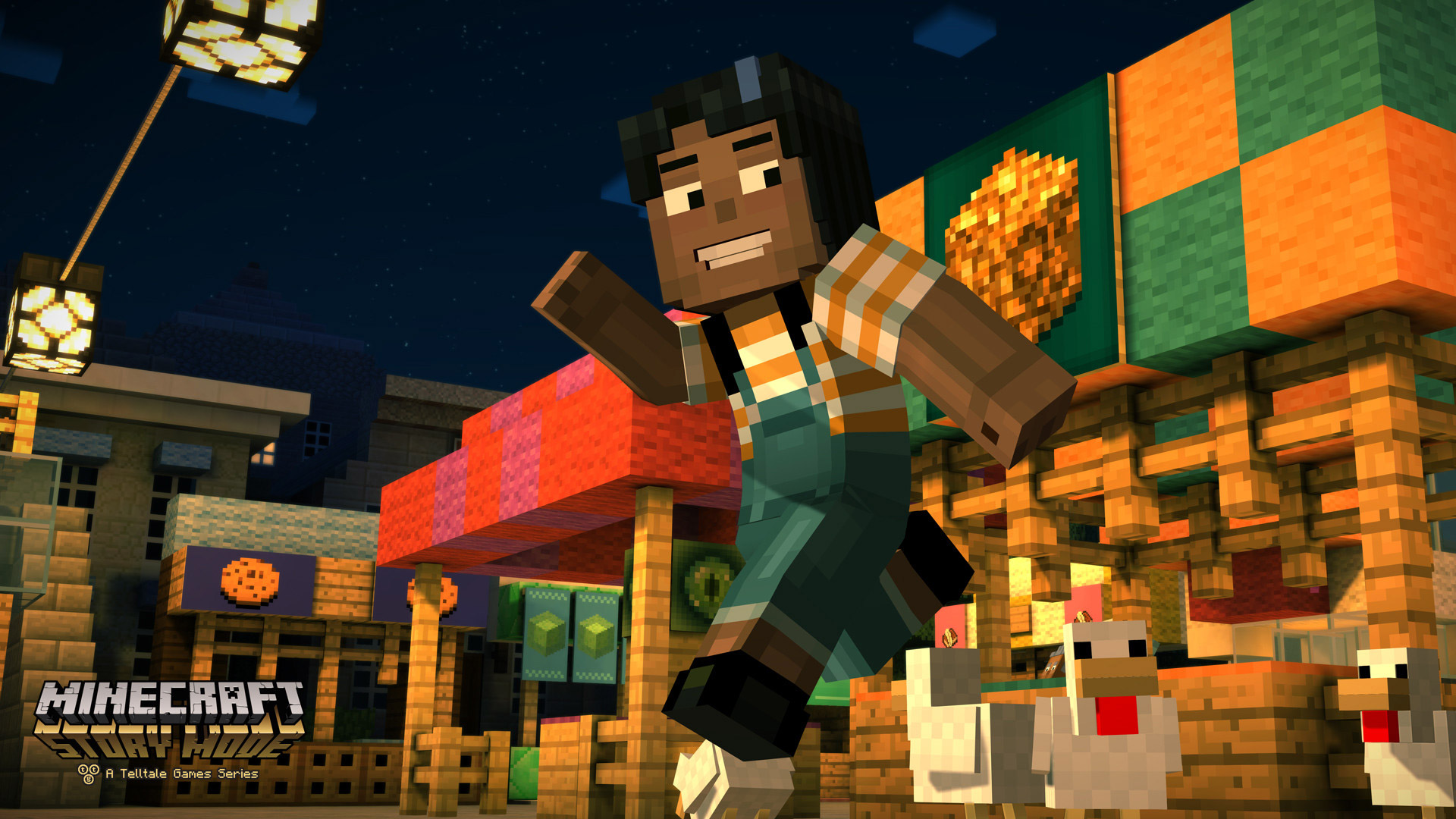 Minecraft: Story Mode Wallpaper in 1920x1080