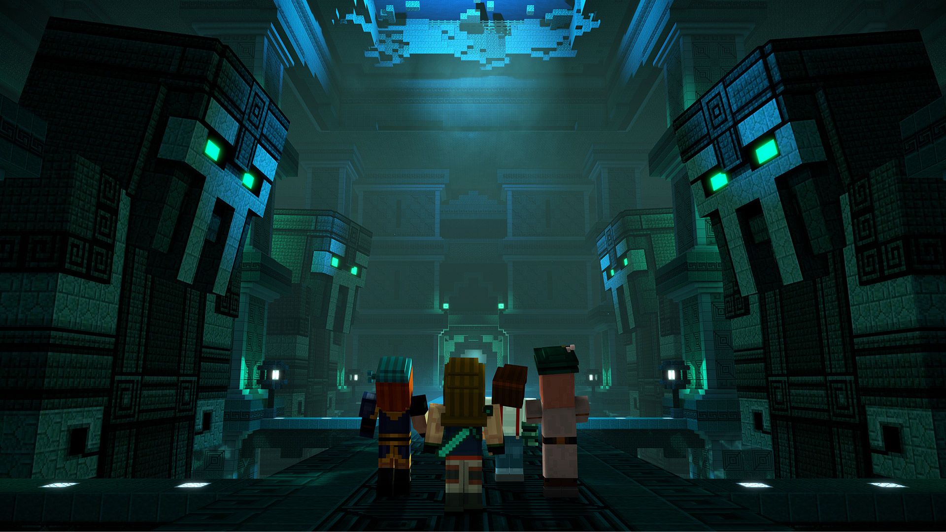 Free Minecraft: Story Mode Season 2 Wallpaper in 1920x1080