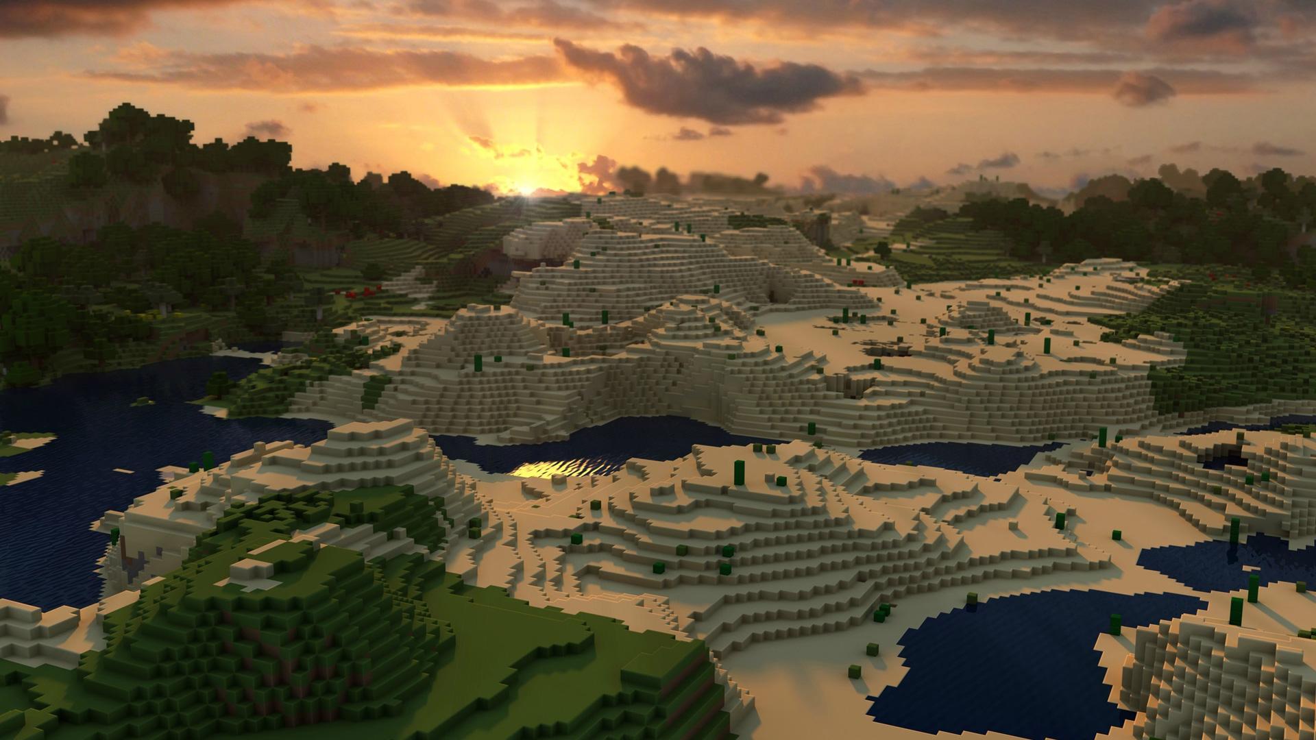 Free Minecraft Wallpaper in 1920x1080