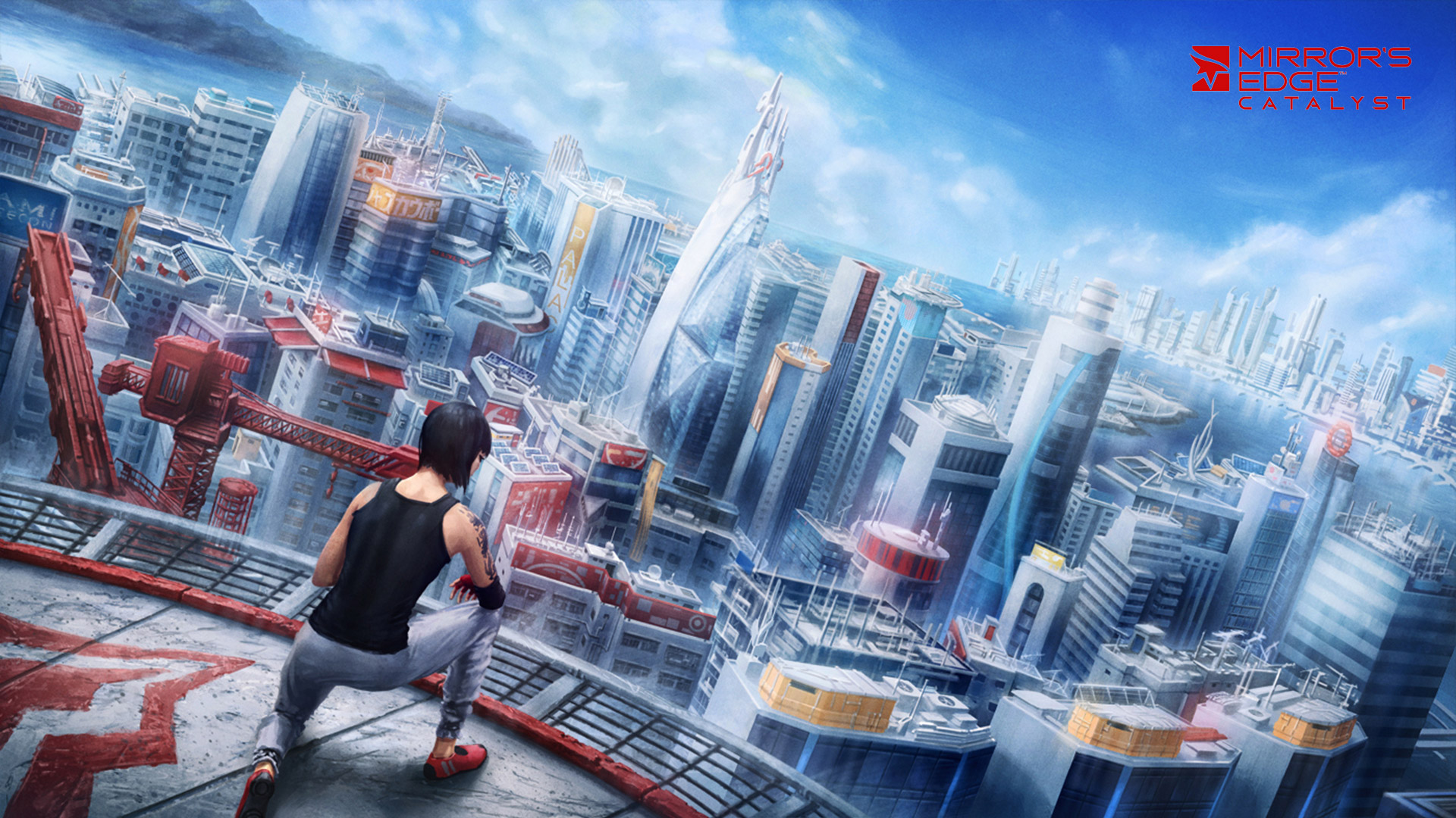 Mirror's Edge Catalyst Wallpaper in 1920x1080