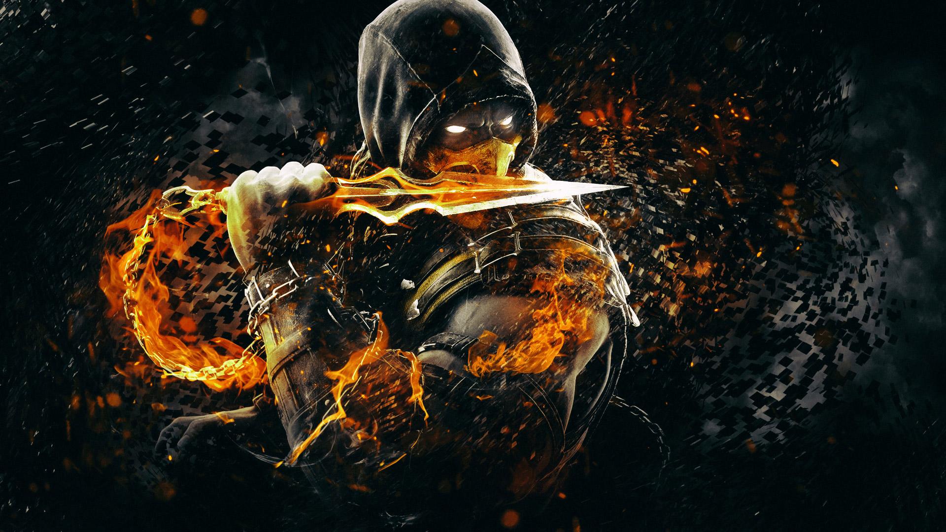 Free Mortal Kombat X Wallpaper in 1920x1080