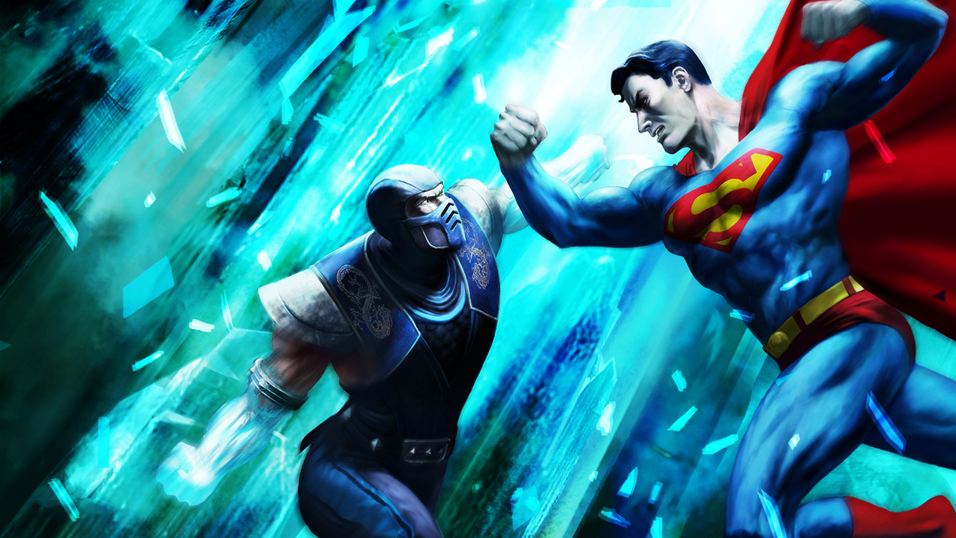 Mortal Kombat vs. DC Universe Wallpaper in 1920x1080
