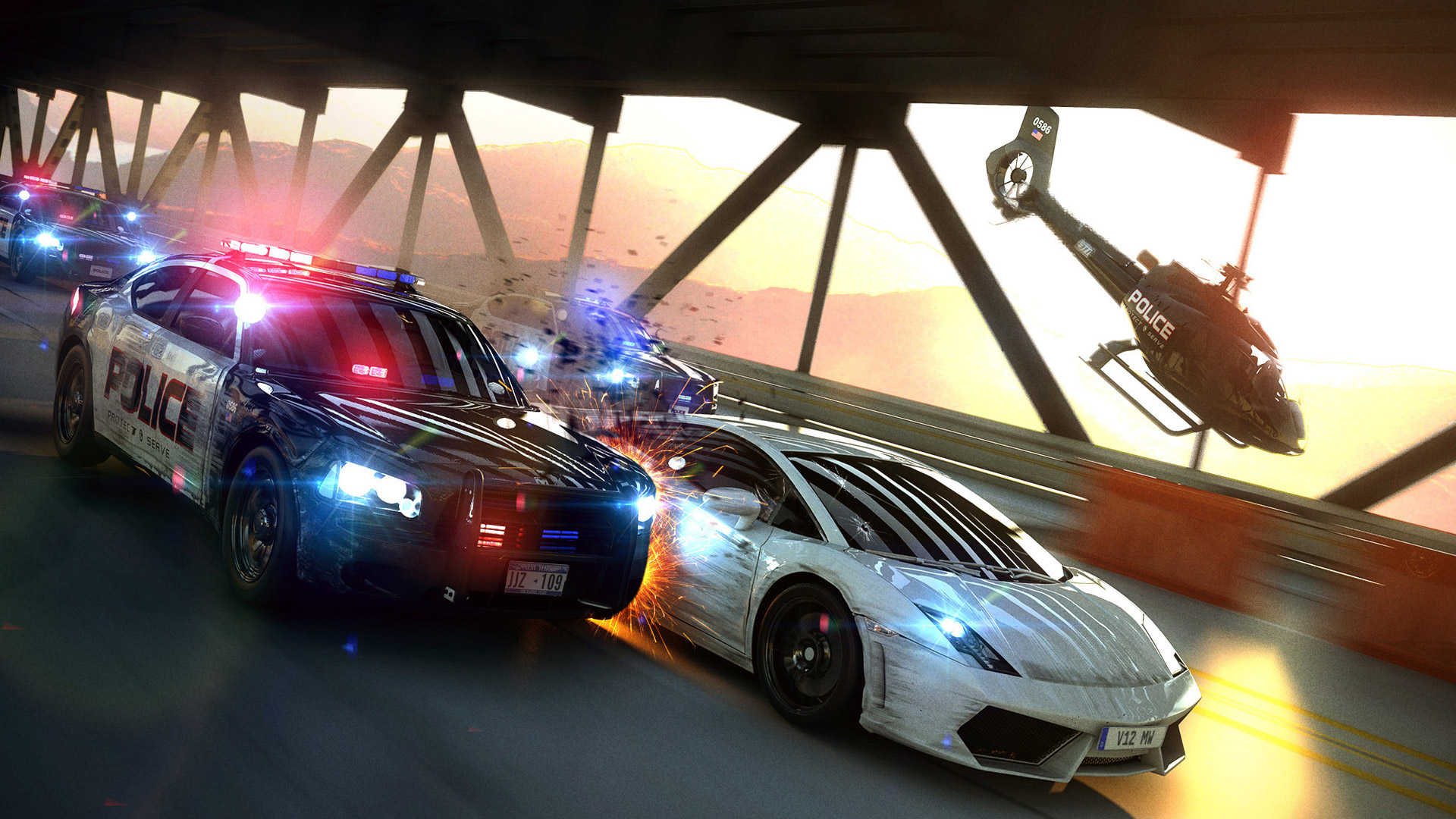Free Need for Speed: Most Wanted (2012) Wallpaper in 1920x1080