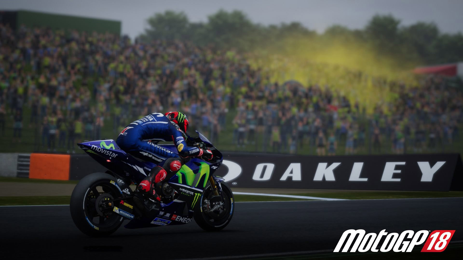 Free MotoGP 18 Wallpaper in 1920x1080