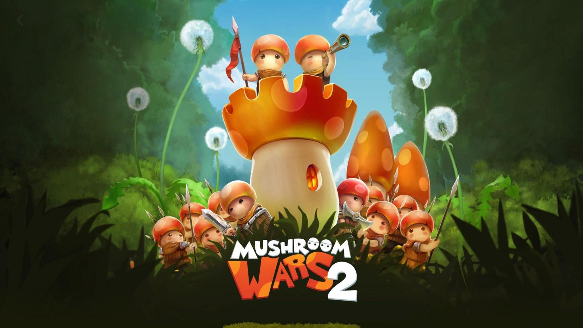 Free Mushroom Wars 2 Wallpaper in 1920x1080