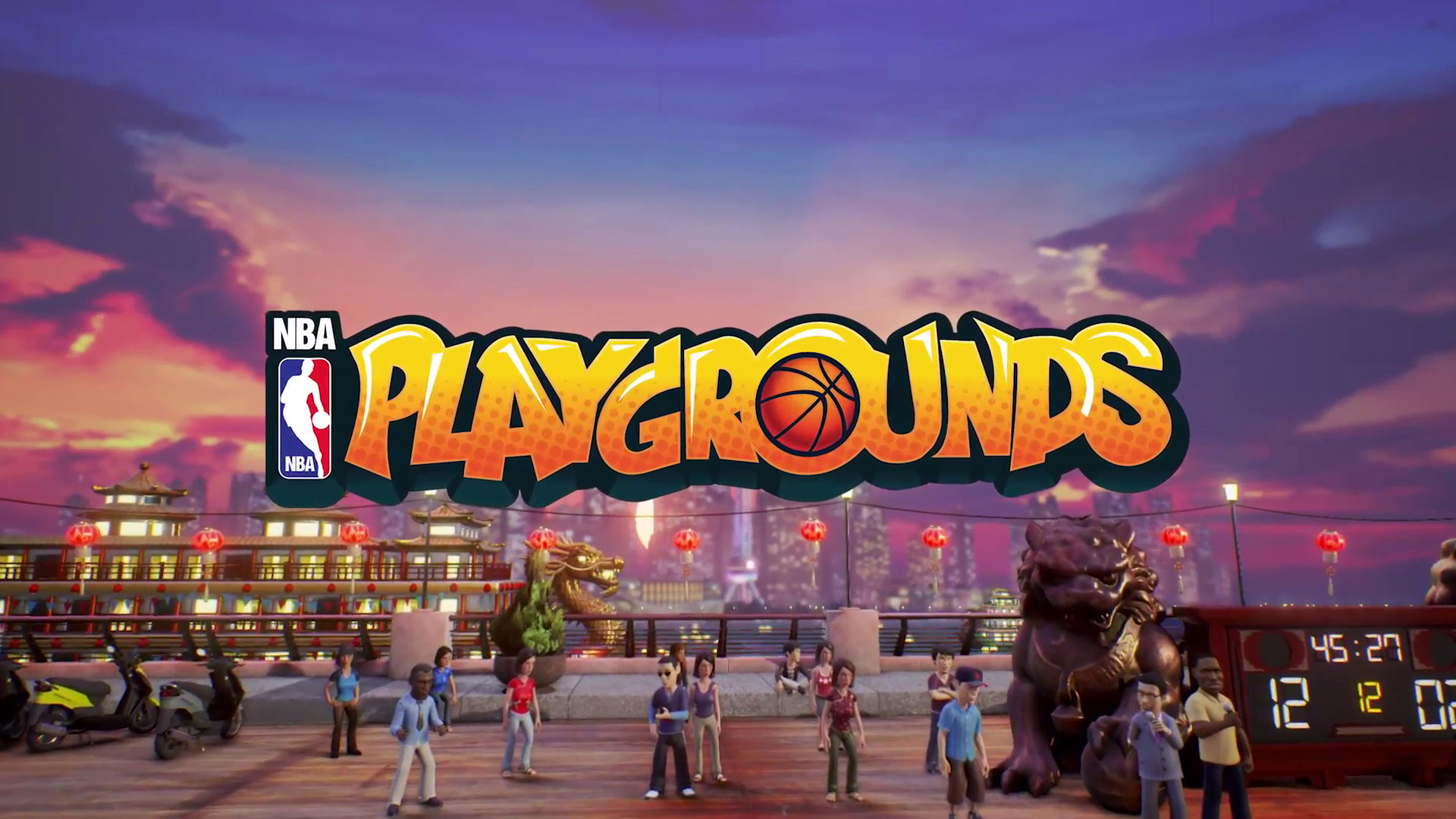 NBA Playgrounds Wallpaper in 1920x1080