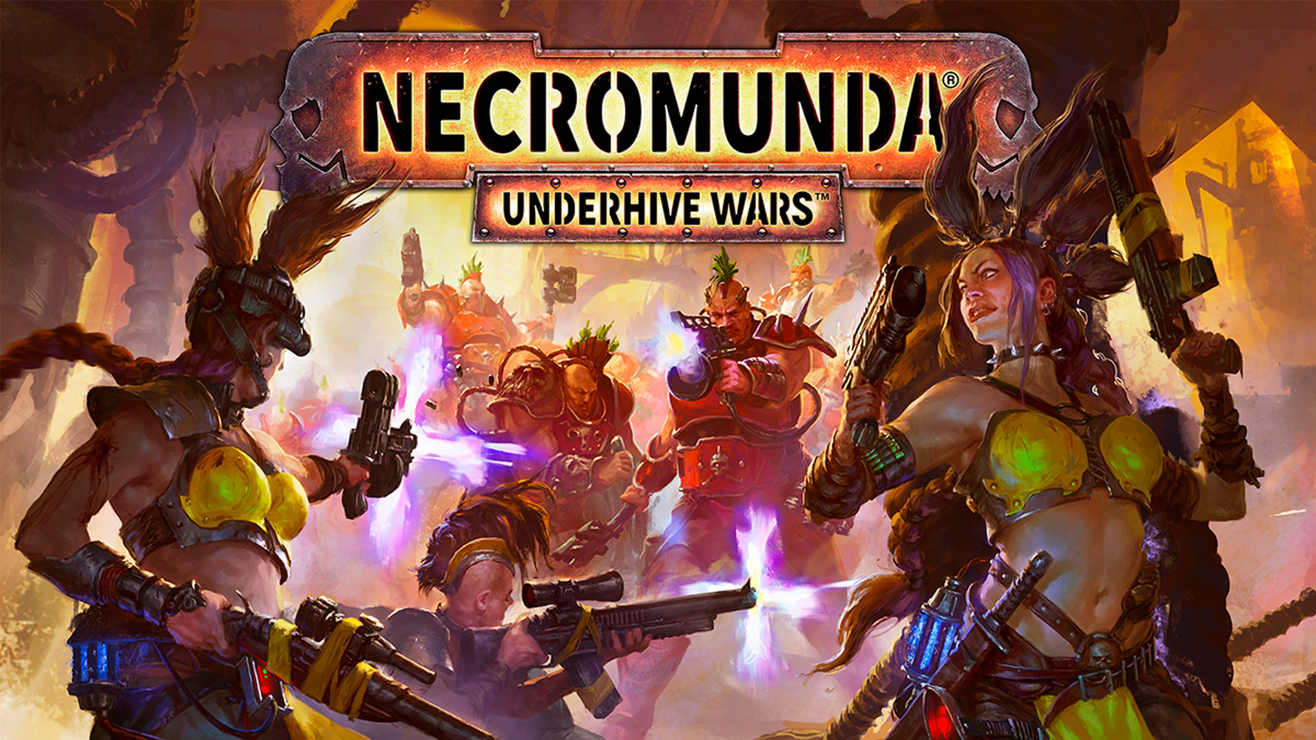 Necromunda: Underhive Wars Wallpaper in 1920x1080
