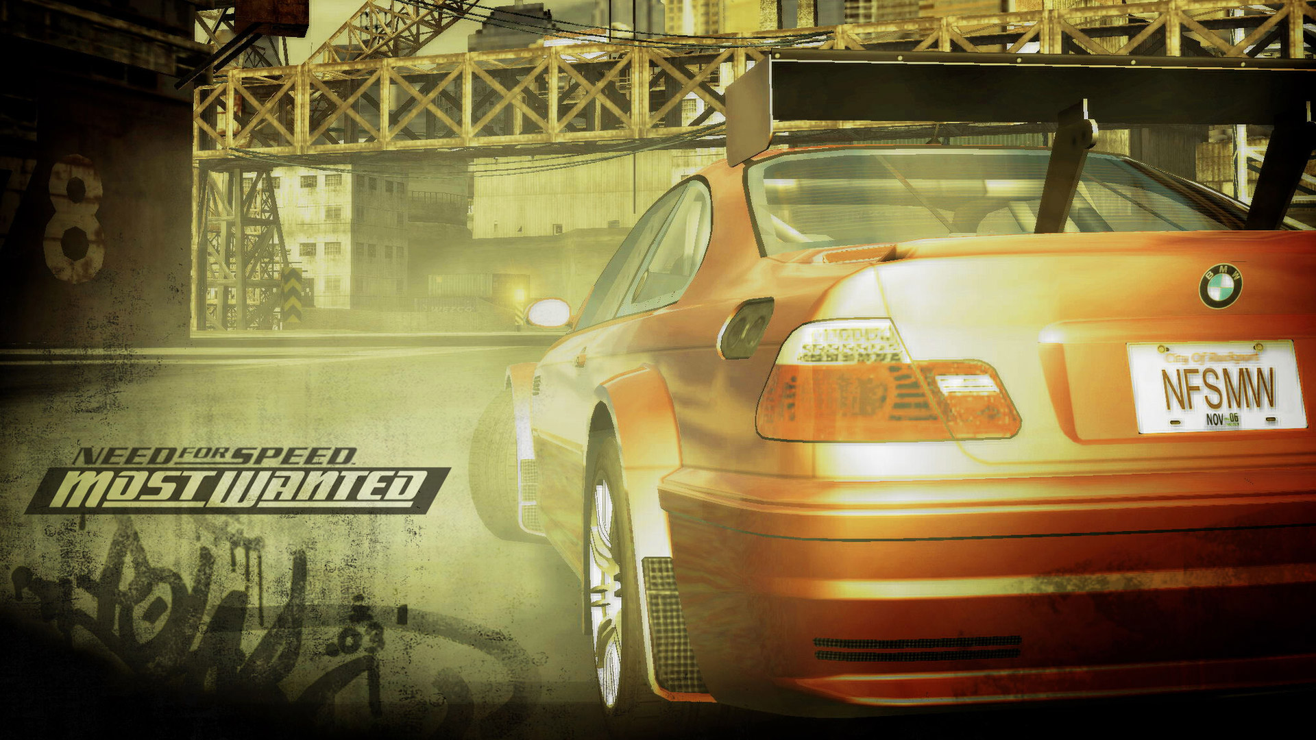 Need for Speed: Most Wanted Wallpaper in 1920x1080