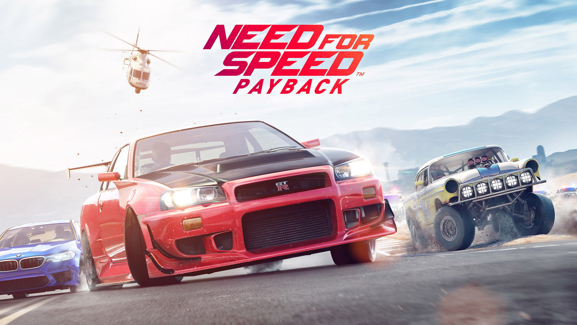 Need For Speed Payback Wallpaper in 1920x1080