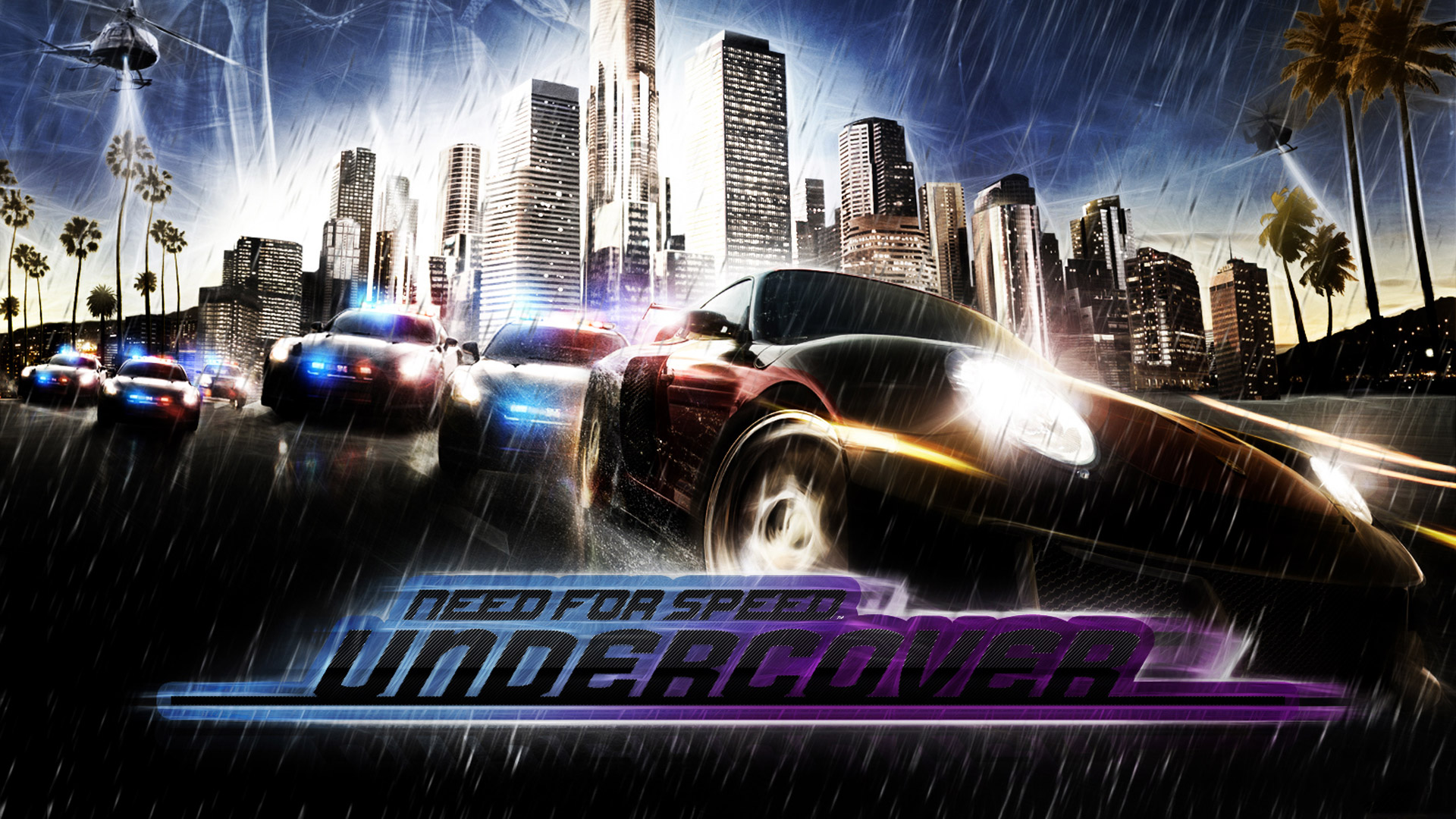 Free Need for Speed: Undercover Wallpaper in 1920x1080