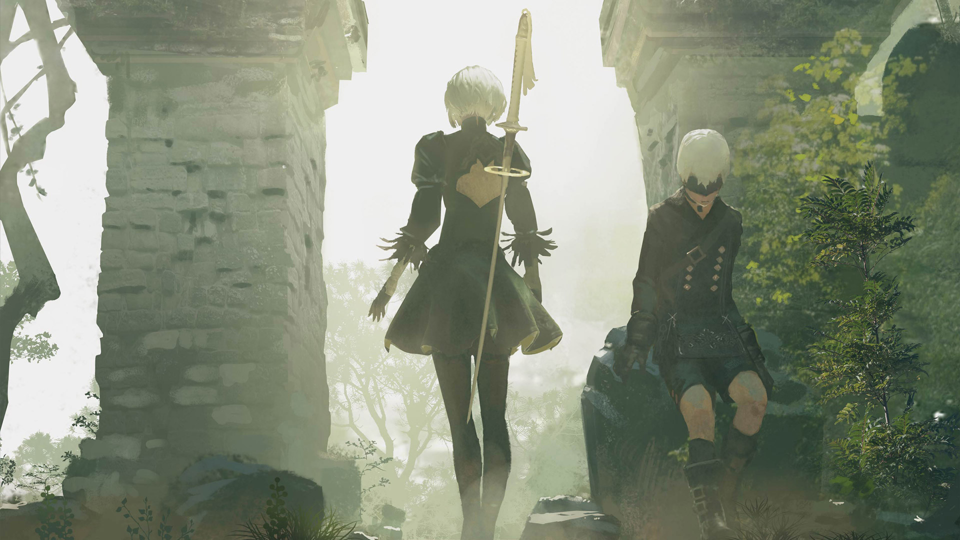 NieR: Automata Wallpaper in 1920x1080