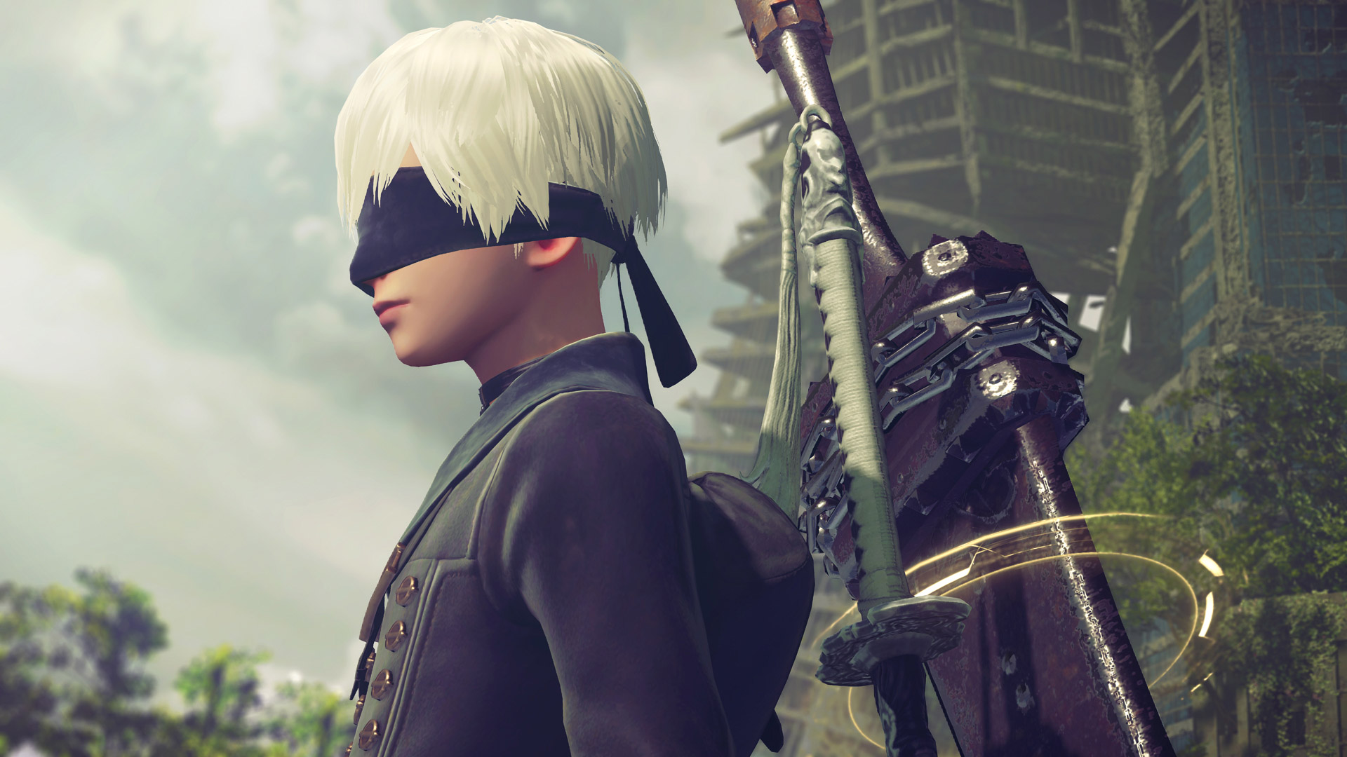 Free NieR: Automata Wallpaper in 1920x1080