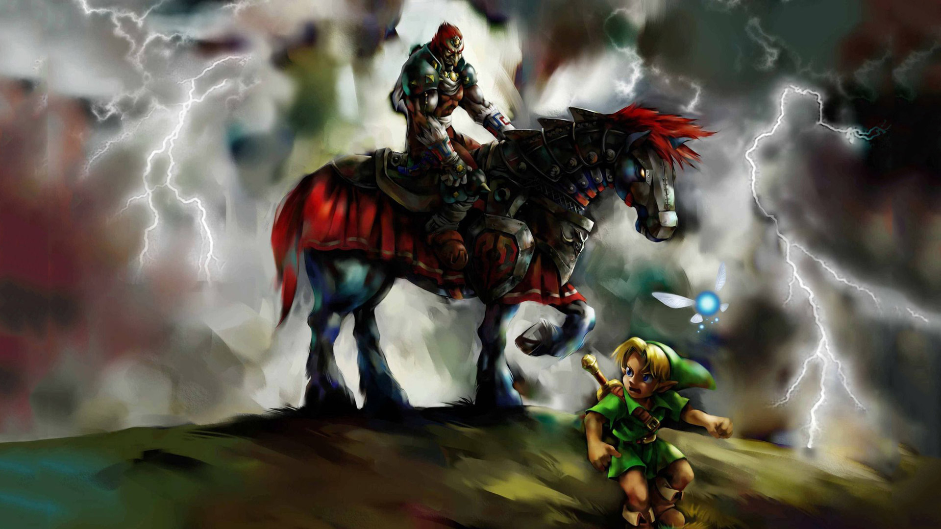 Free The Legend of Zelda: Ocarina of Time Wallpaper in 1920x1080