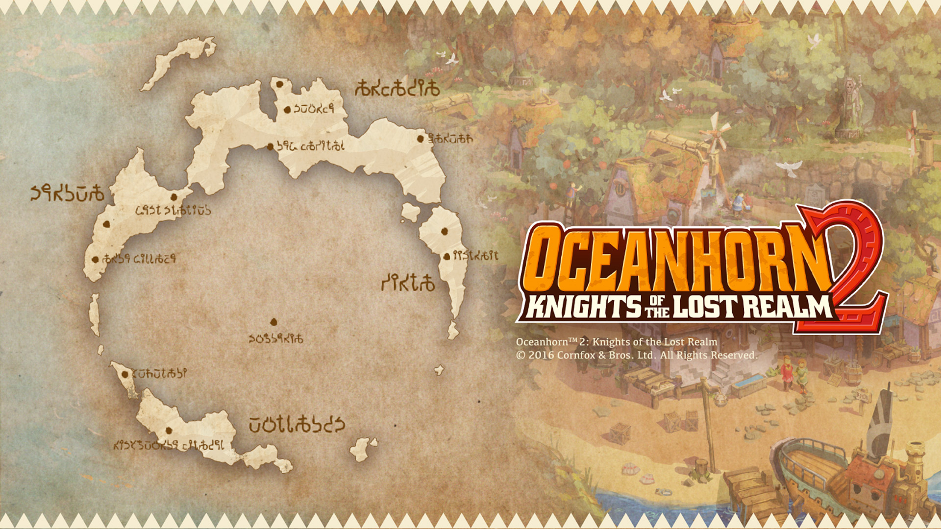 Oceanhorn 2: Knights of The Lost Realm Wallpaper in 1920x1080