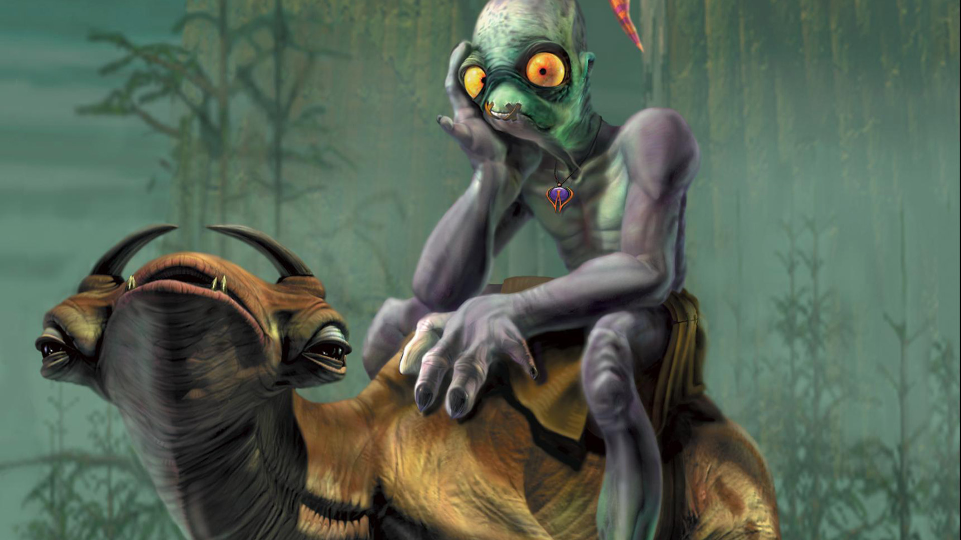 Free Oddworld: Abe's Oddysee Wallpaper in 1920x1080