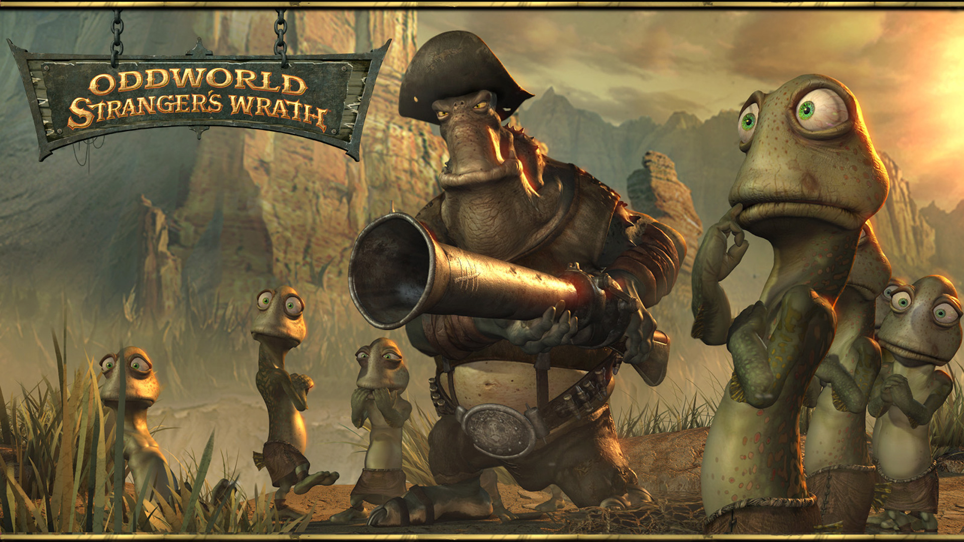 Oddworld: Stranger's Wrath Wallpaper in 1920x1080