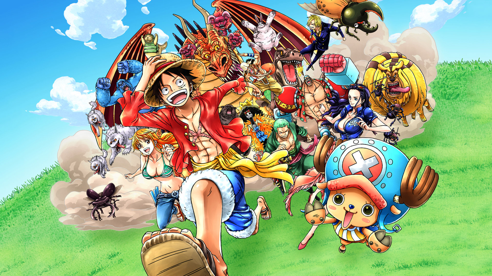 Free One Piece Unlimited World Red Wallpaper In 1920x1080
