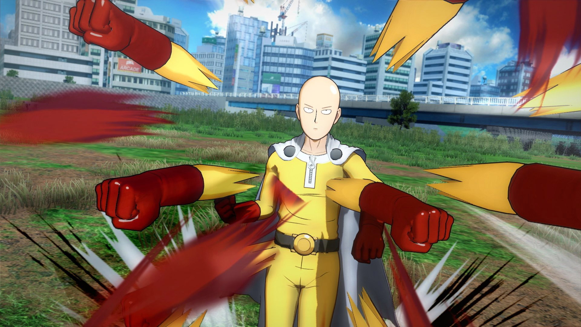 One Punch Man: A Hero Nobody Knows Wallpaper in 1920x1080