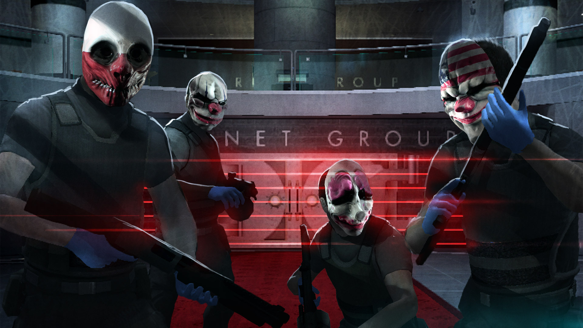 Free Payday: The Heist Wallpaper in 1920x1080