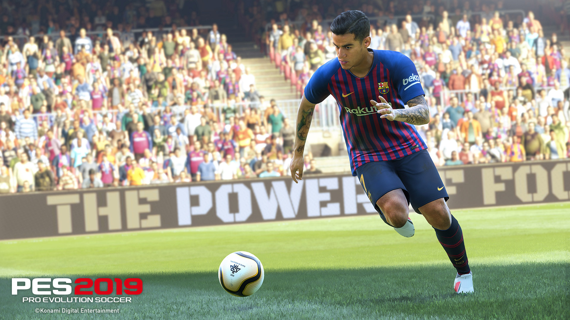 Free Pro Evolution Soccer 2019 Wallpaper in 1920x1080