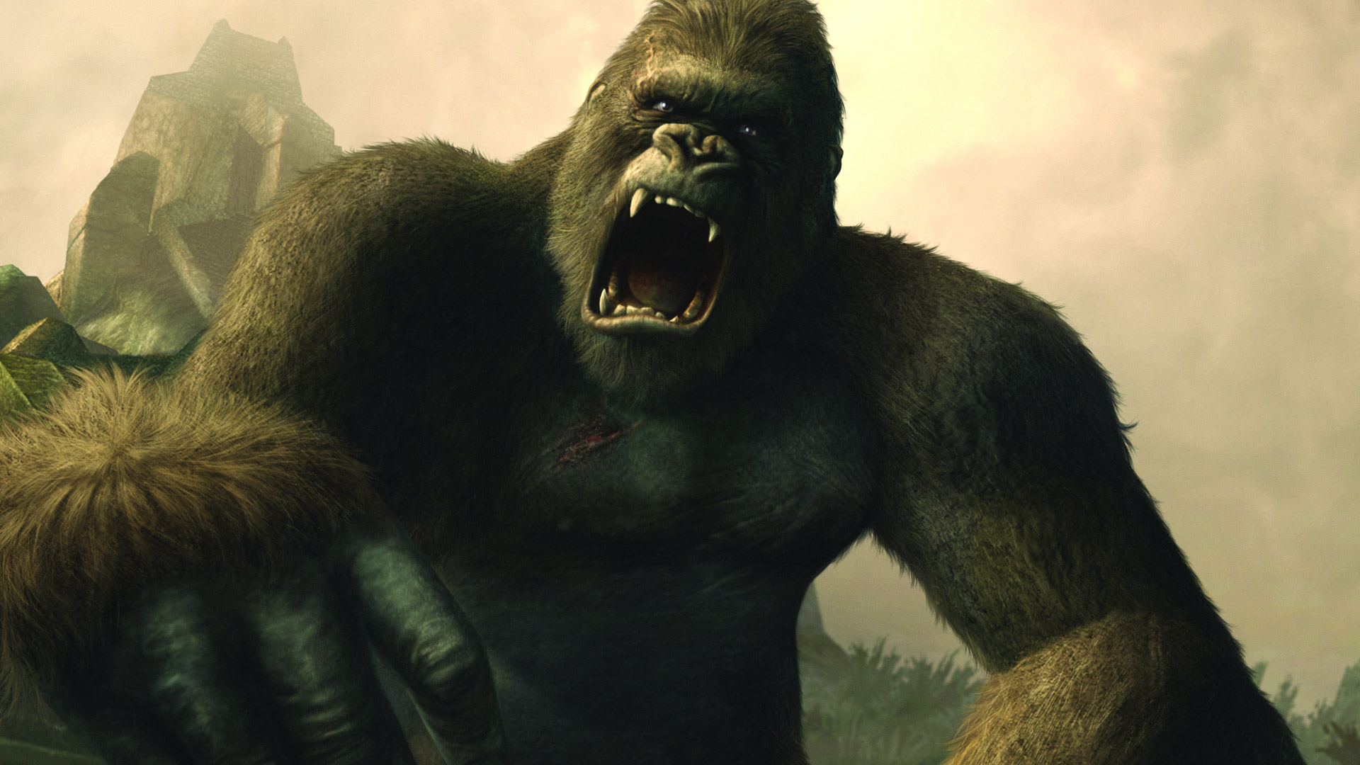 Free Peter Jackson's King Kong: The Official Game of the Movie Wallpaper in 1920x1080