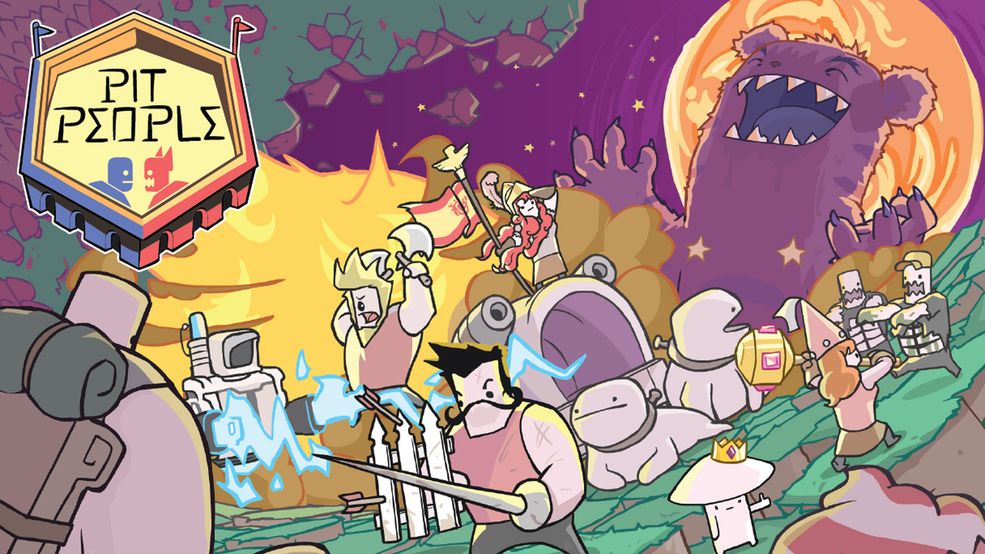 Pit People Wallpaper in 1920x1080
