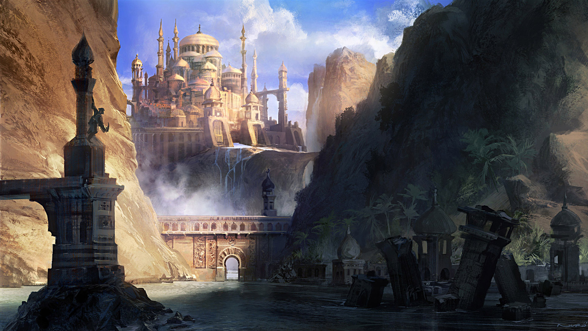 Prince of Persia: The Forgotten Sands Wallpaper in 1920x1080