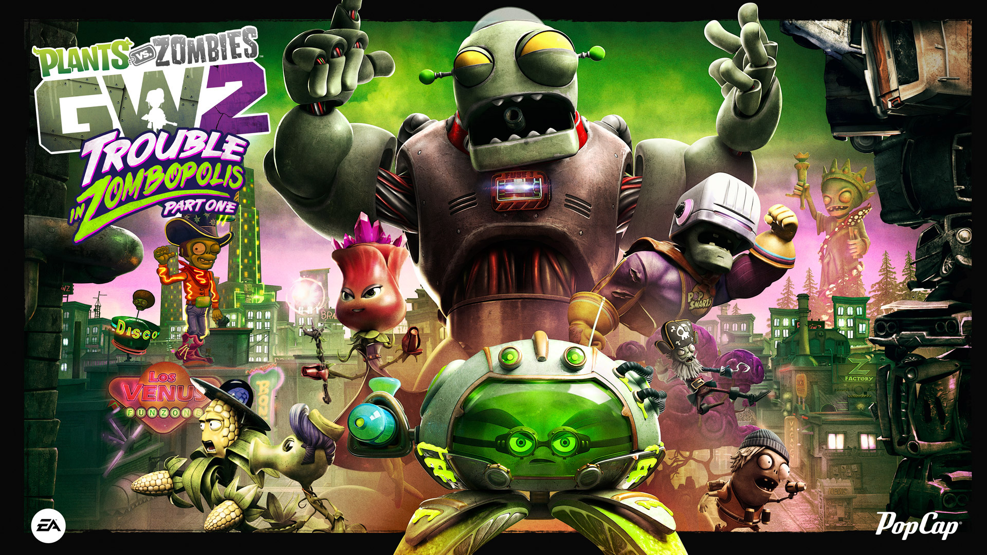 Free Plants vs. Zombies: Garden Warfare 2 Wallpaper in 1920x1080