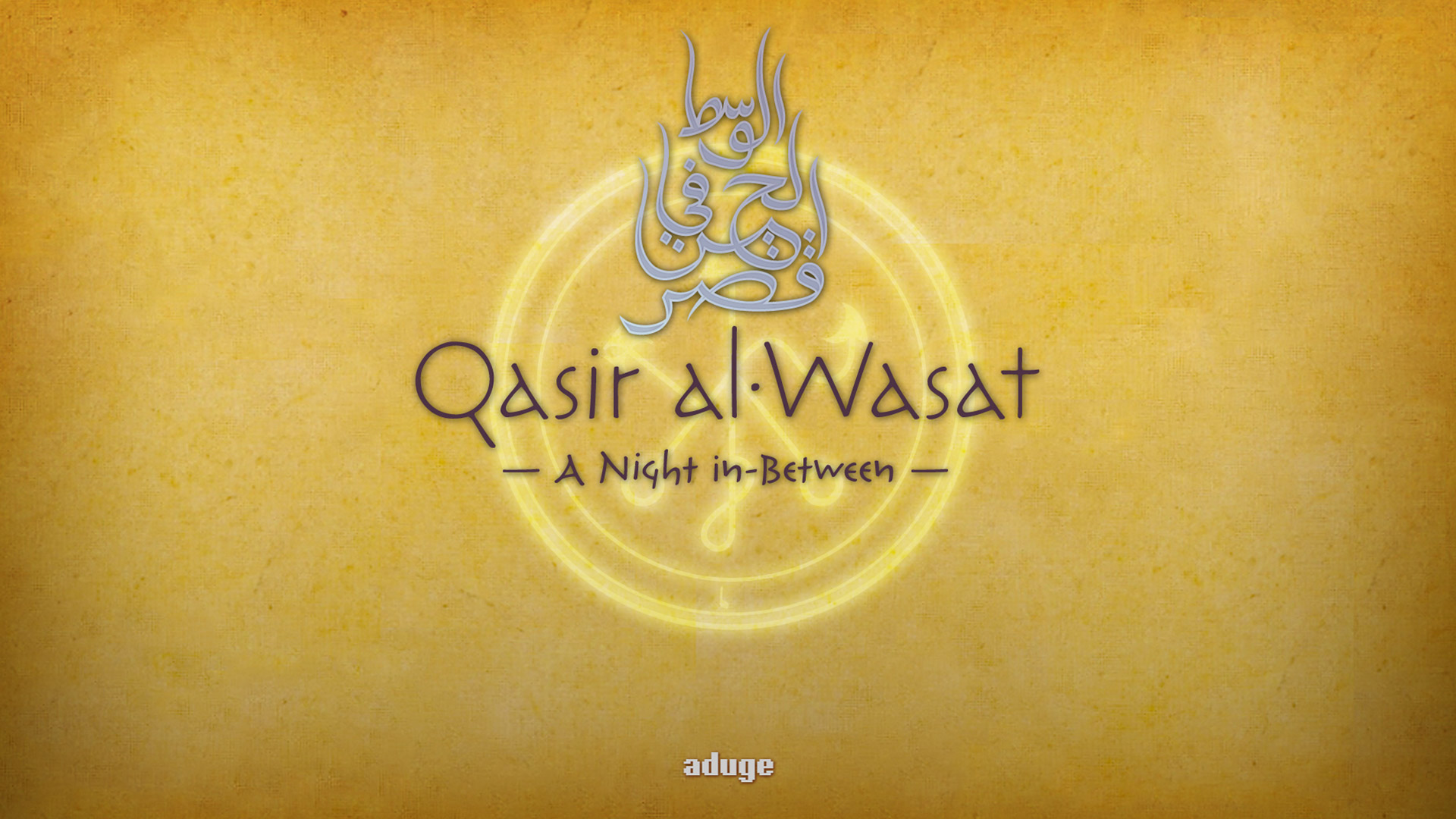 Free Qasir Al-Wasat: A Night in-Between Wallpaper in 1920x1080
