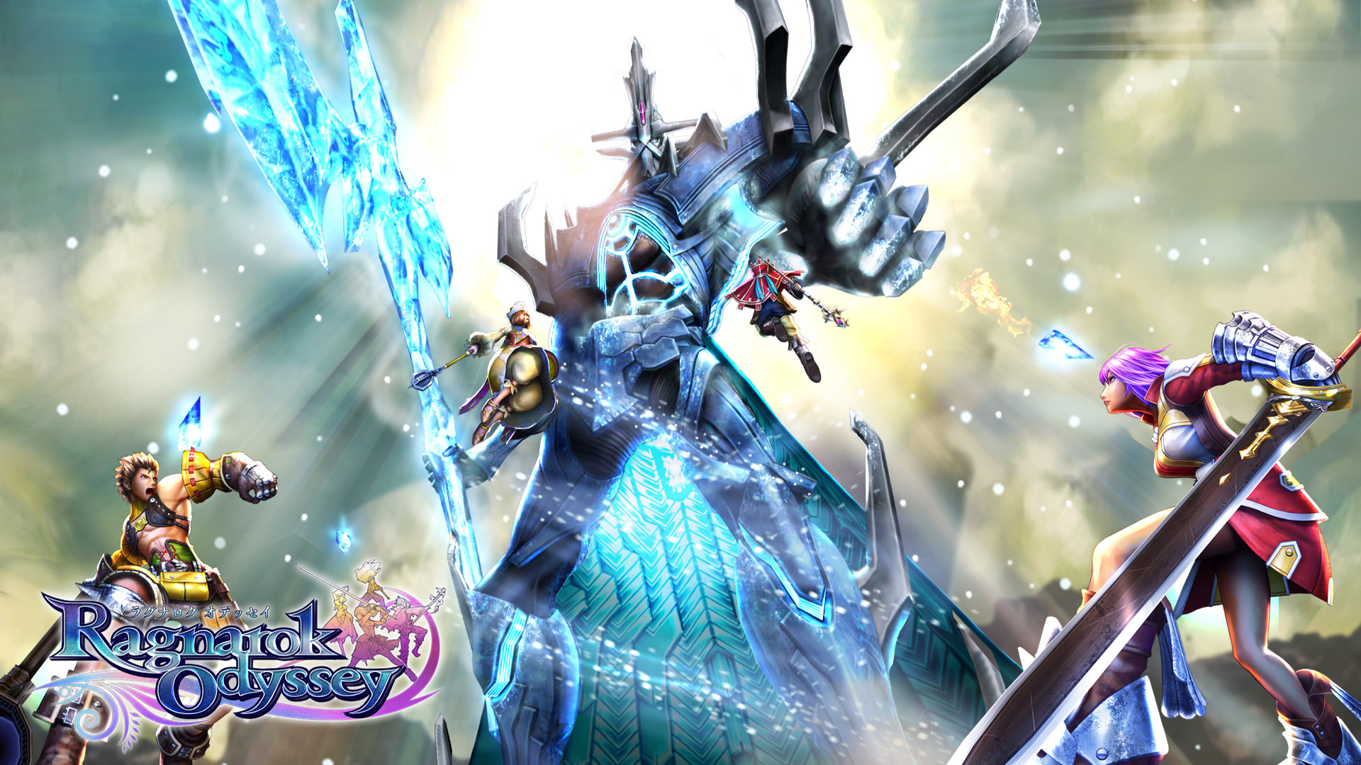Free Ragnarok Odyssey Wallpaper in 1920x1080