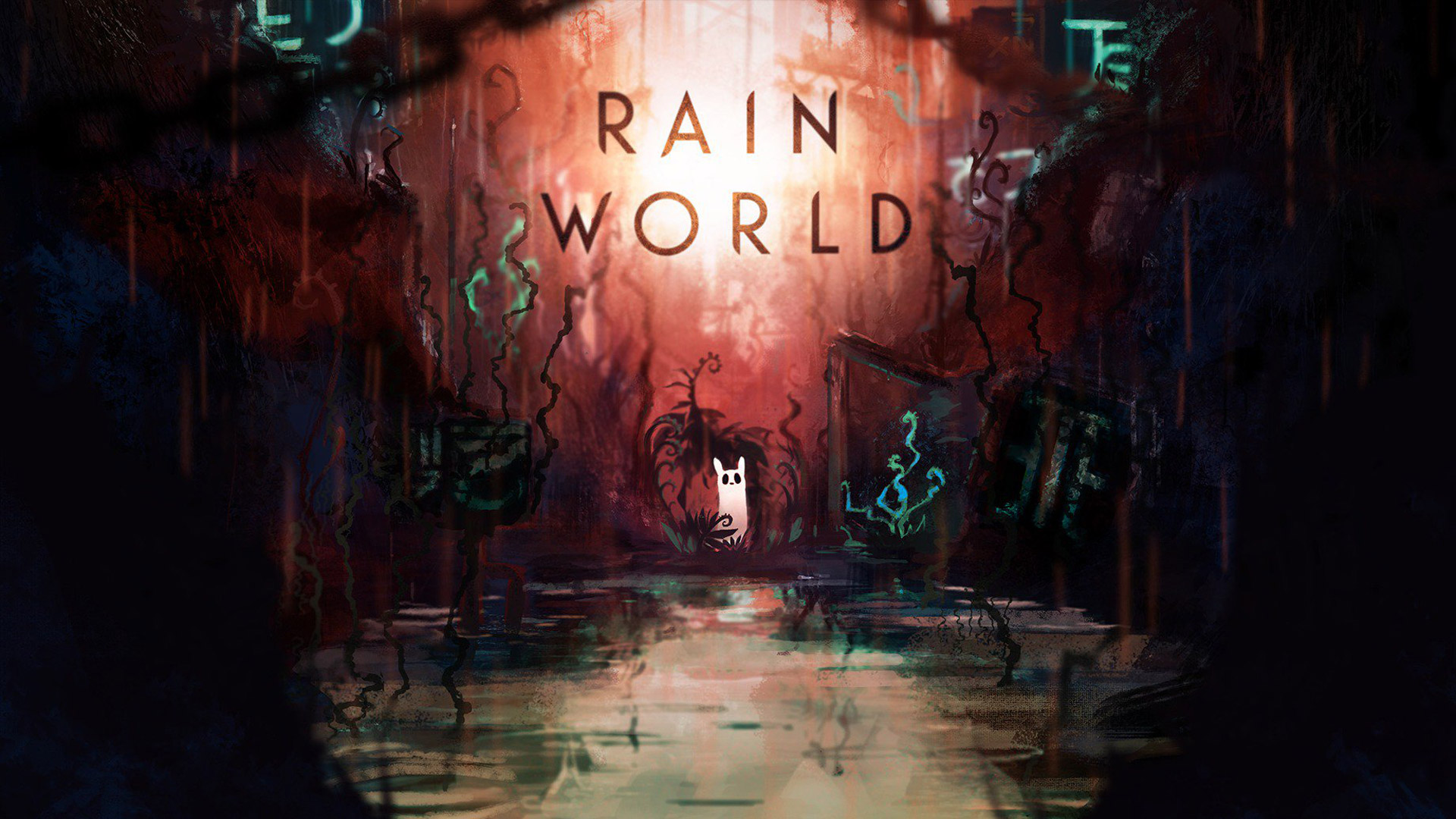 Free Rain World Wallpaper in 1920x1080